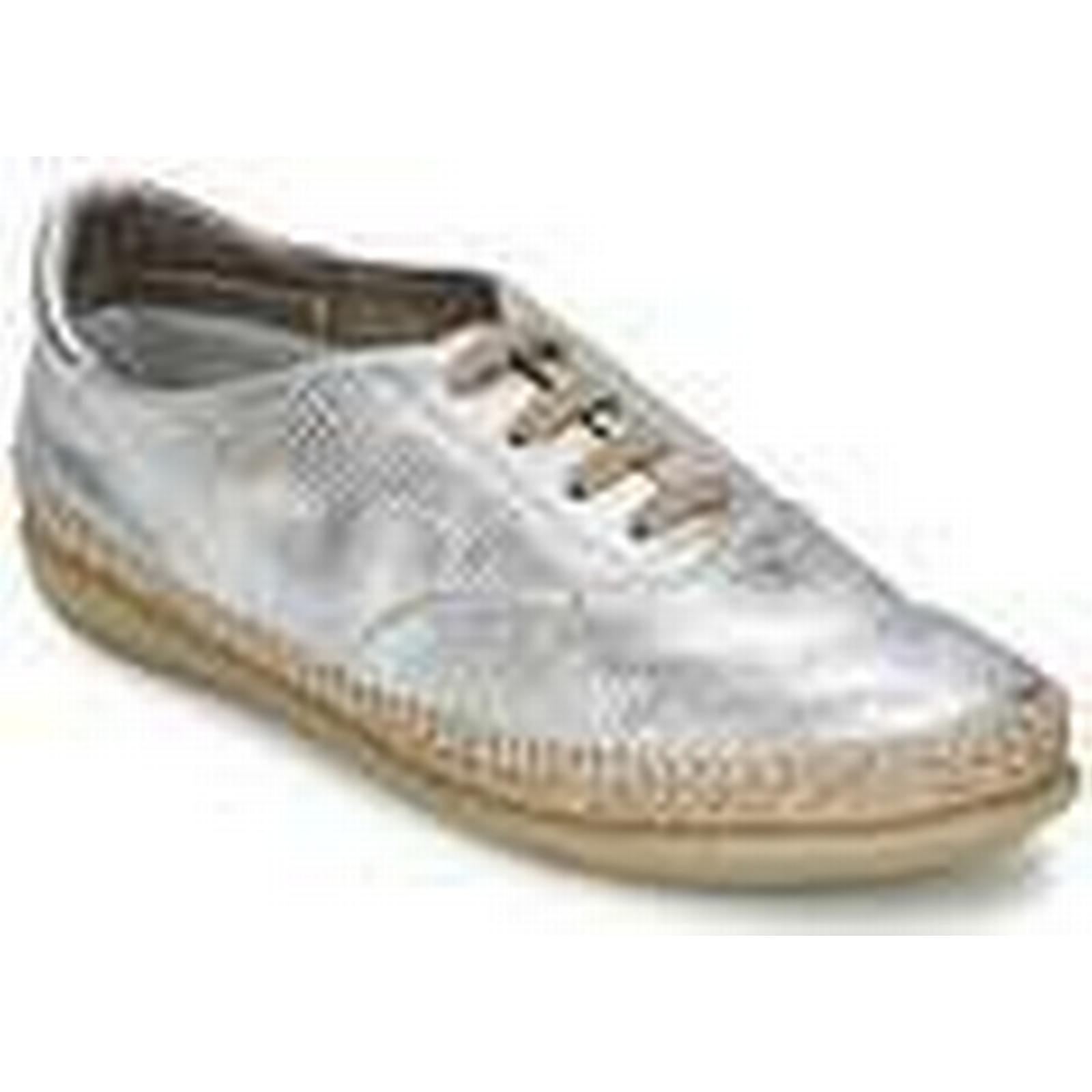 The women's Flexx  RAPTOR  women's The Casual Shoes in Silver c11ca2
