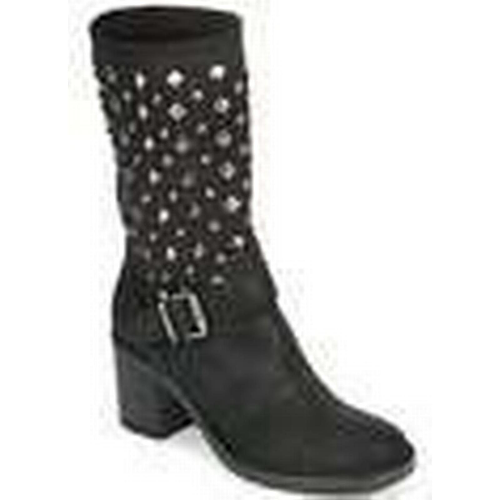 Meline  DOTRE  women's Black Low Ankle Boots in Black women's d8abe4