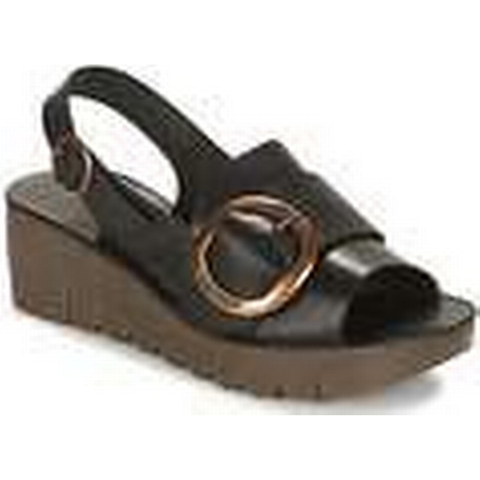 Fly London London Fly  YIDI  women's Sandals in Black 1085df