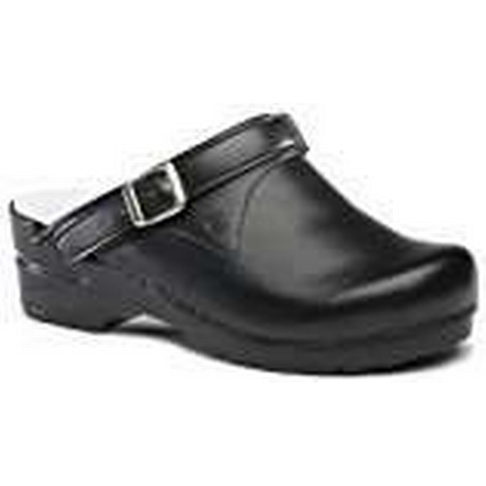 Toffeln 0723-42 Strap, Footwear, FlexiKlog with Back Strap, 0723-42 Size 42/UK 8, Black 02474e