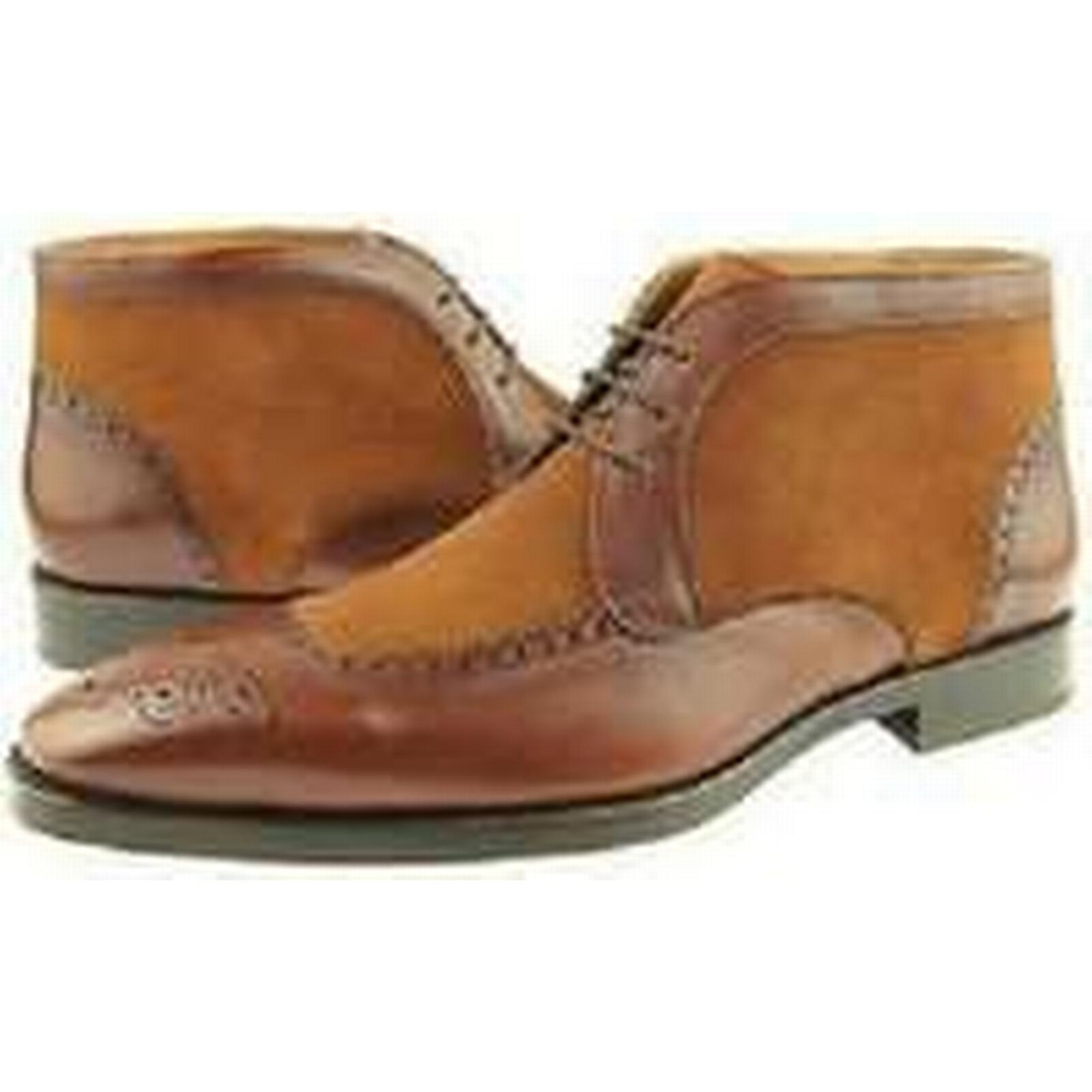 Bonanza (Global) boots, Handmade Men brown chukka boots, (Global) Men suede and leather ankle boots, Men boots ccde0a