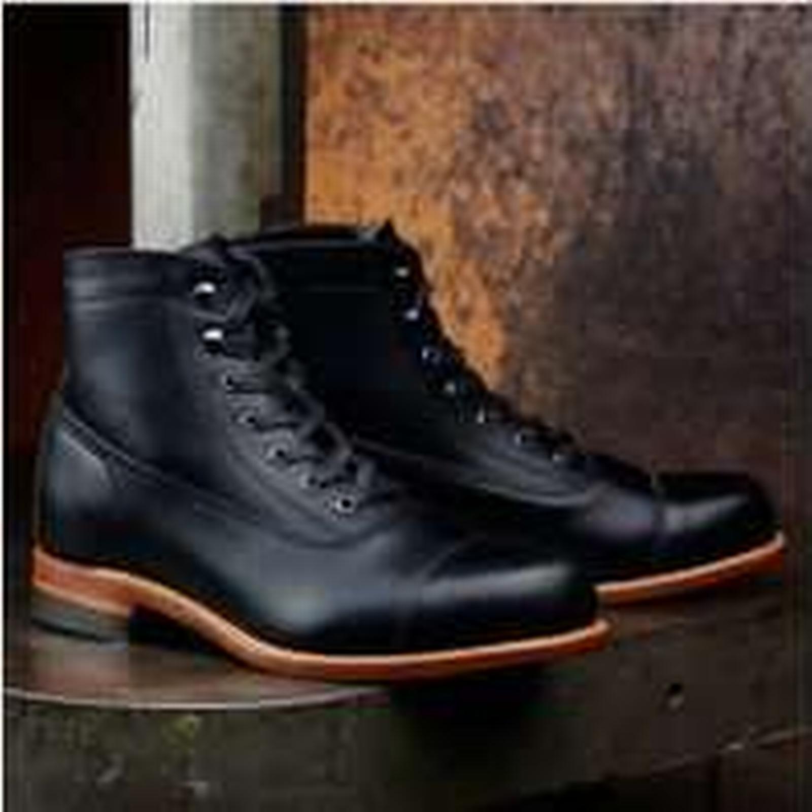 Bonanza (Global) Handmade Ankle Men Black Real Leather Ankle Handmade Boot, Mens Leather Boot, Men Boots 5f9922