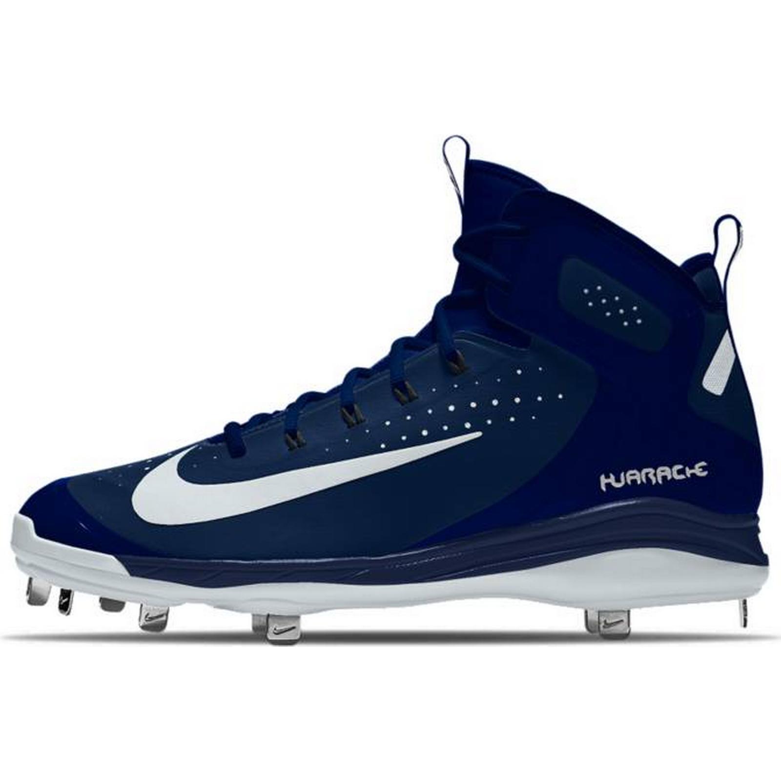 Gentlemen/Ladies : NIKE Męskie Korki Do Gry W Baseball Nike Metal Alpha Huarache Elite Mid Metal Nike ID : Special Purchase 5a3b7b