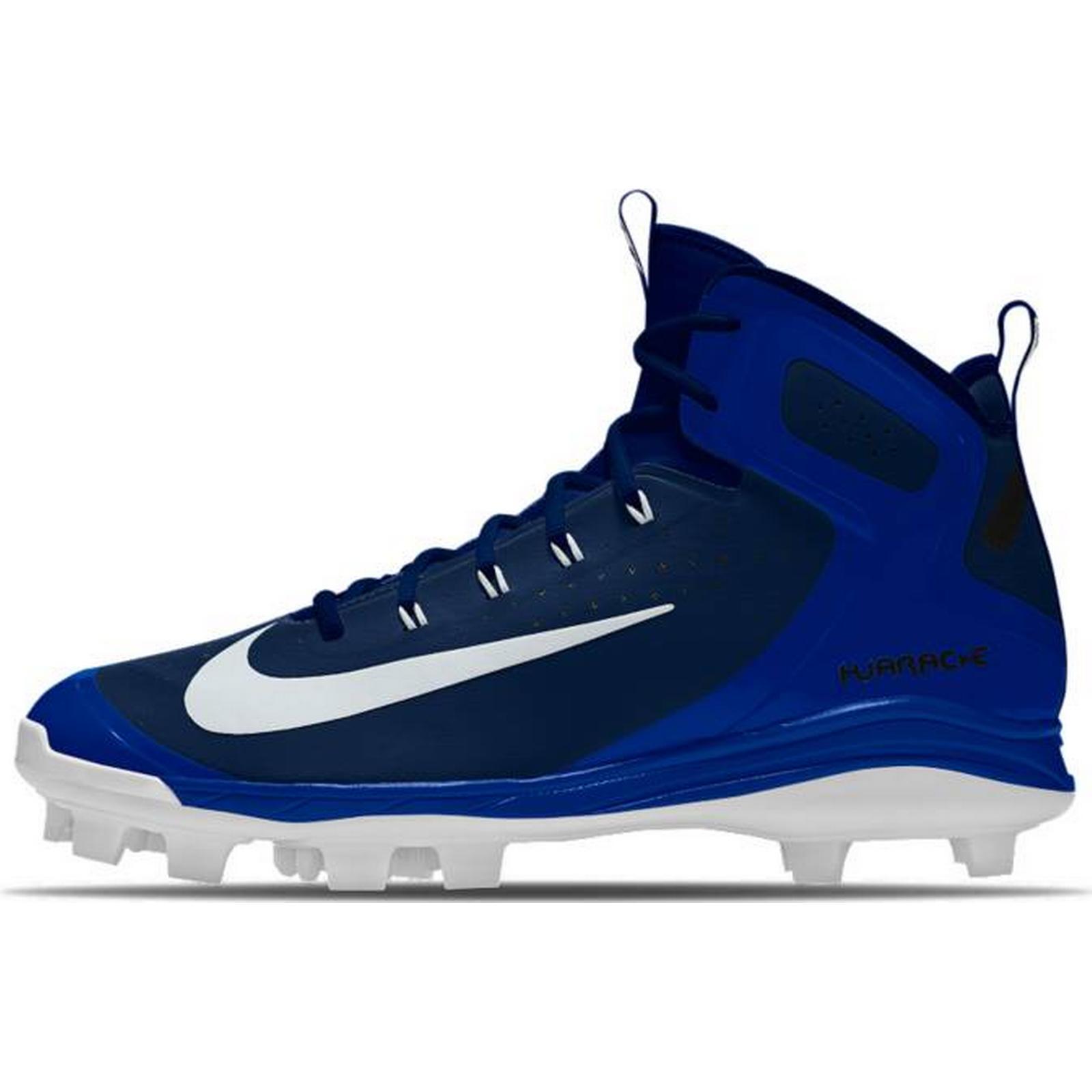 Men's/Women's : NIKE Męskie Korki Do Gry W Baseball Nike MCS Alpha Huarache Elite Mid MCS Nike ID : High Quality 0adb80