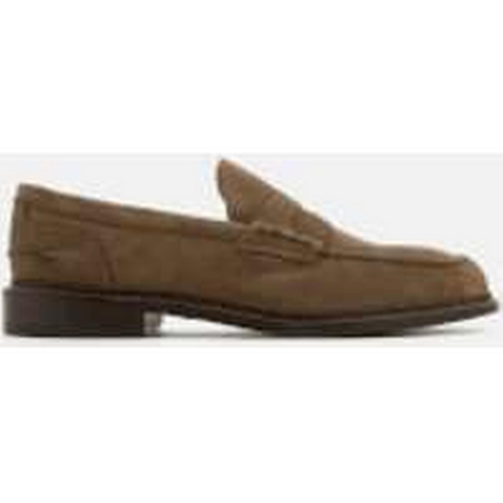 Tricker's Men's Adam Suede Loafers Brown - New Brown Loafers 102d35