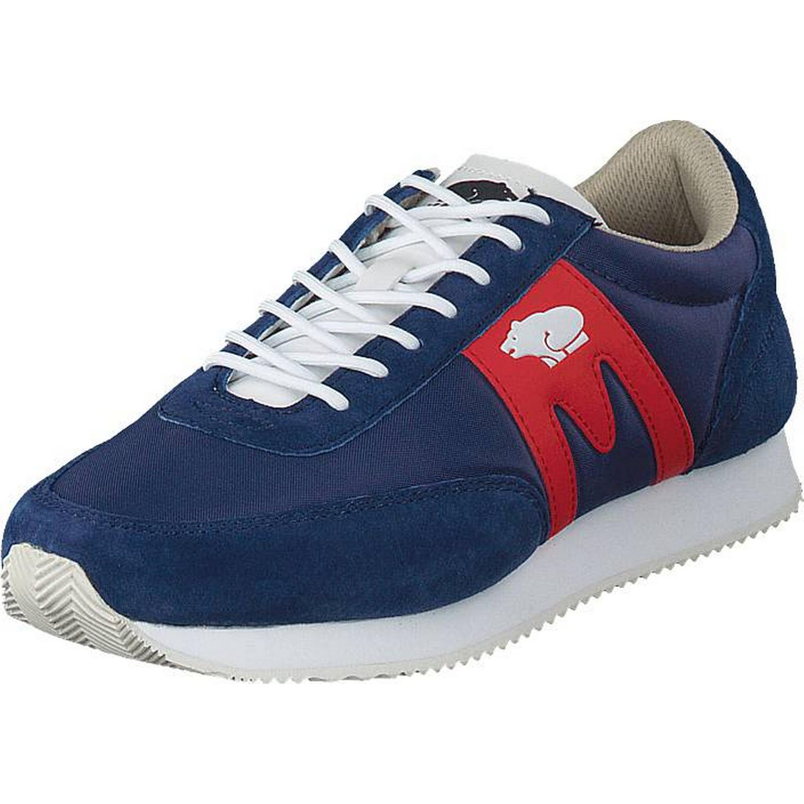 Karhu Albatross Deep Deep Albatross Cobalt - Fiery Reed, Shoes, Trainers & Sport Shoes , Trainers, Blue, Unisex, 36 1fcf22