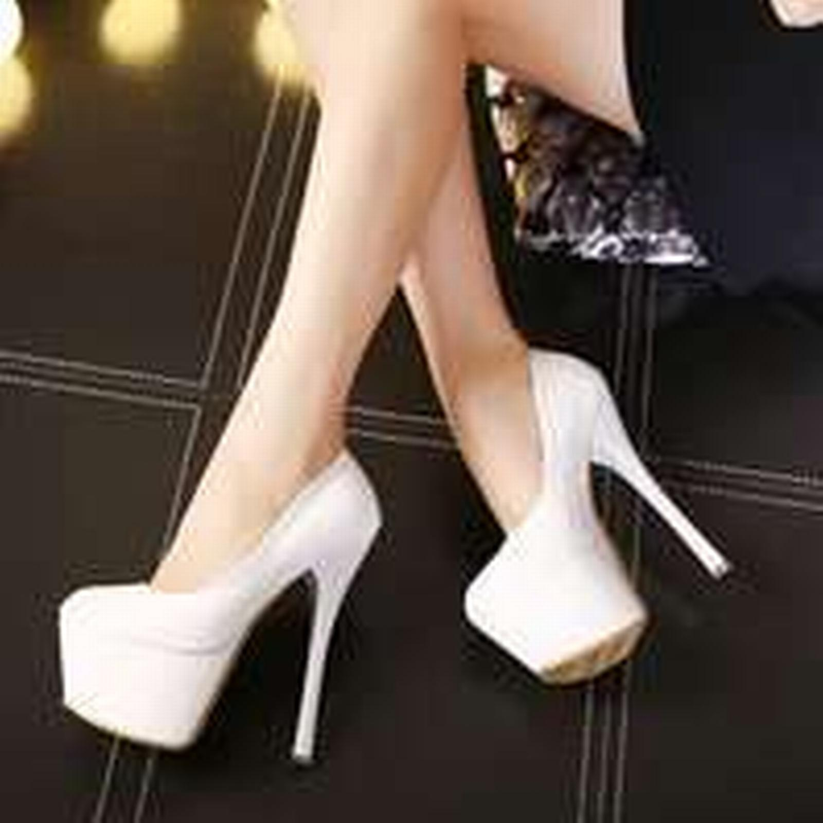Bonanza (Global) pp273 Stunning supper high color, heel pump in candy color, high US Size 4-8.5, white 6a02cd