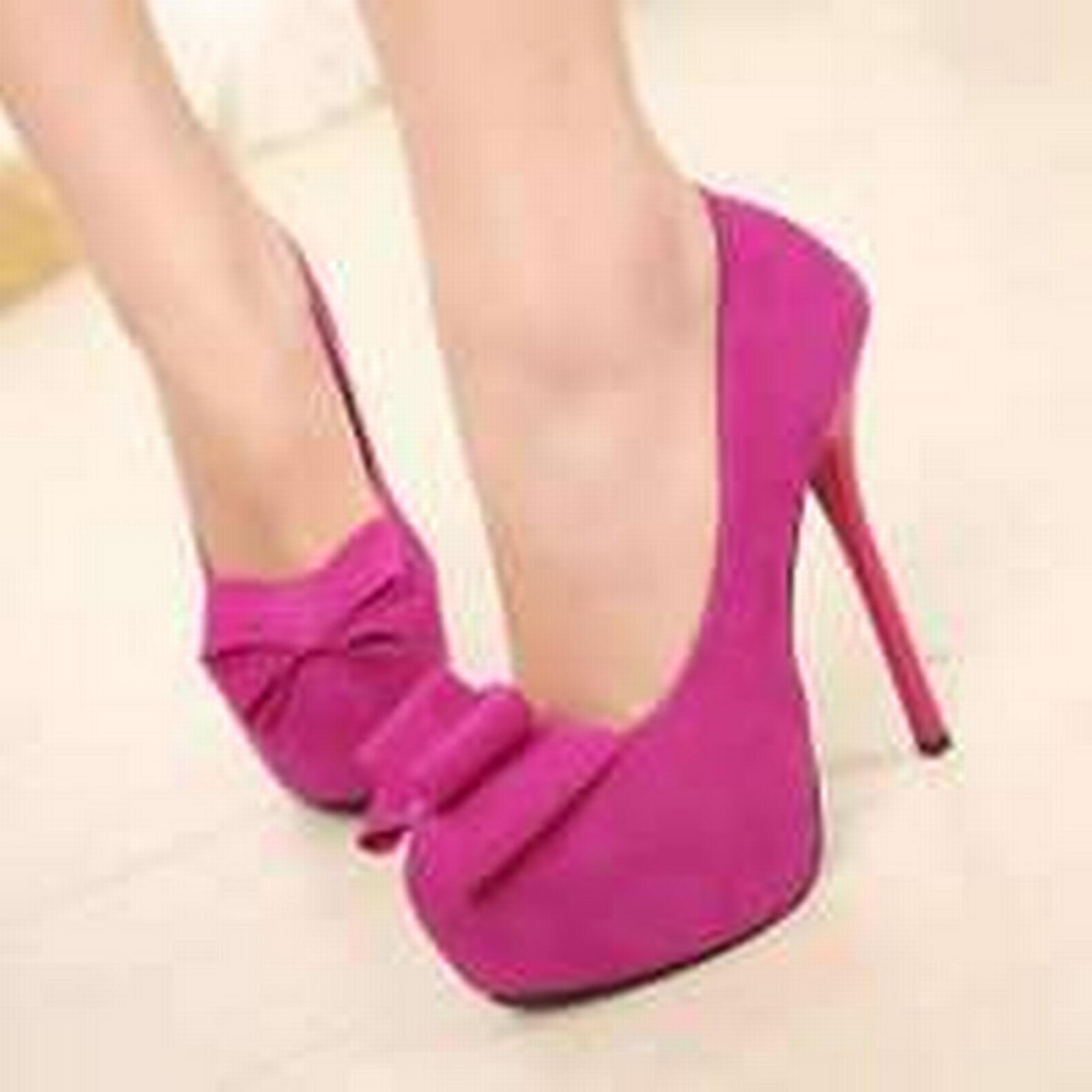 Bonanza front, (Global) pp272 Stunning high heel pump w bowtie front, Bonanza US Size 5-8.5, red b47962