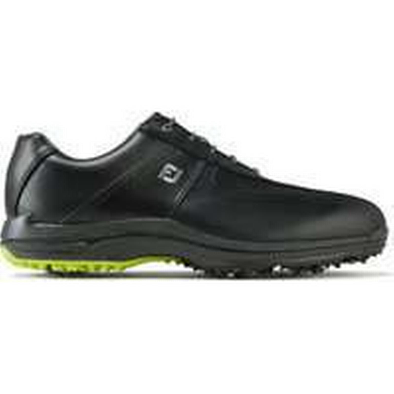 Footjoy 2018 Black Greenjoys Golf Shoes - Black 2018 f1a33b