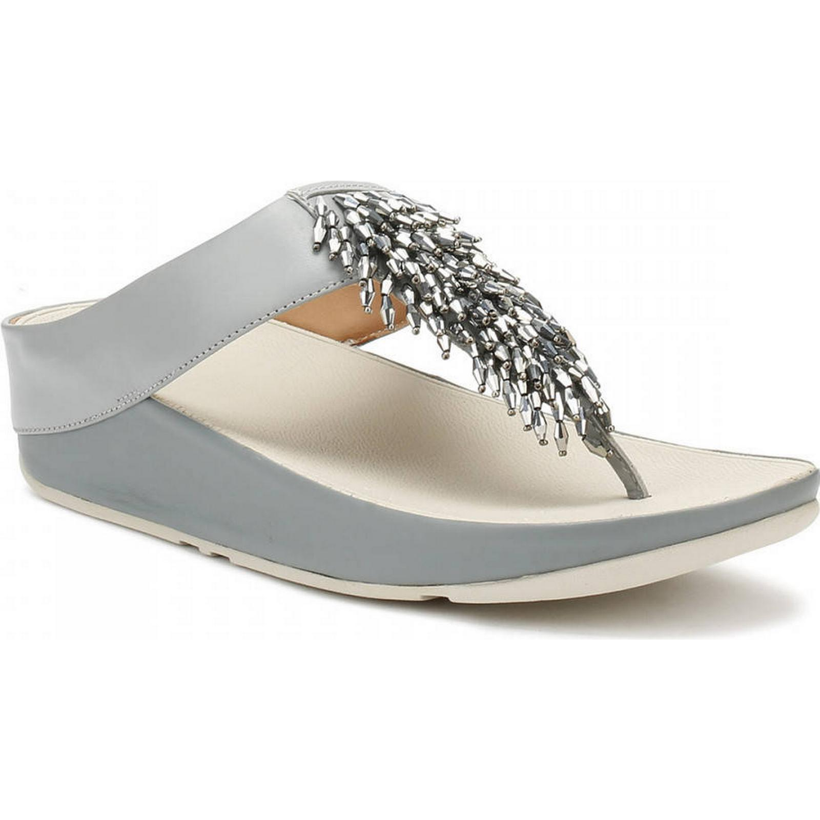 FitFlop Womens Womens FitFlop Dove Blue Rumba™ Sandals 04aae2