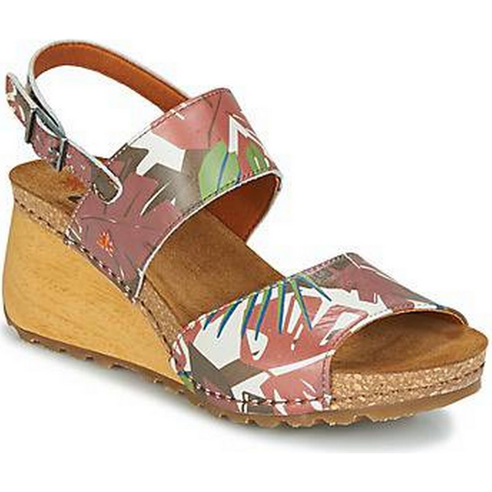 spartoo.co.uk art supportés f femmes & #  ; Marron s les sandales à Marron ;  161052
