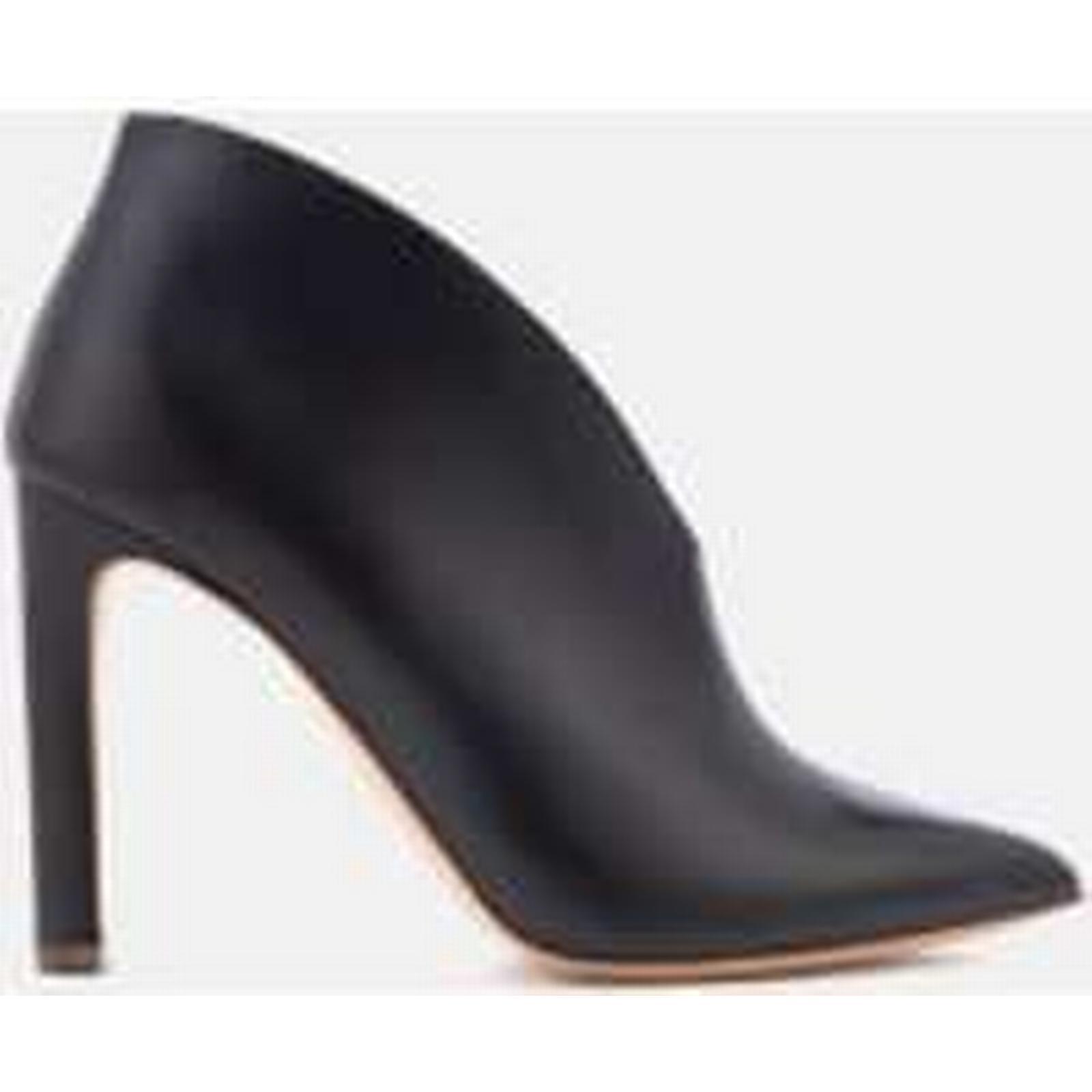 Rupert Sanderson Women's Boots Lolita Leather Heeled Ankle Boots Women's - Black - UK 4 - Black 3cb499