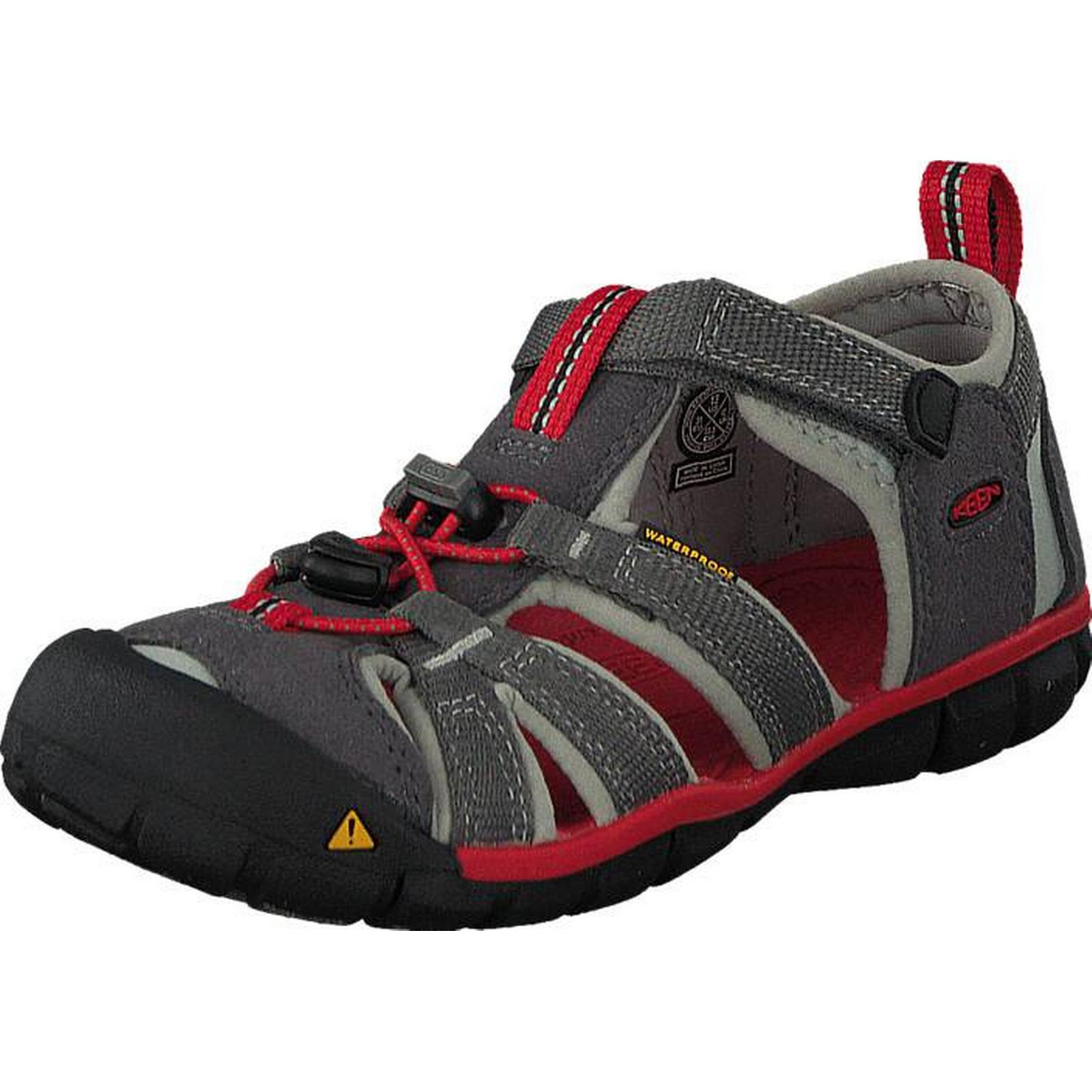 Keen Seacamp Ii Cnx-Kids Magnet/Racing Red, Shoes, Sandals & Sports Slippers, Sports & Sandals, Purple, Unisex, 24 c7aea6
