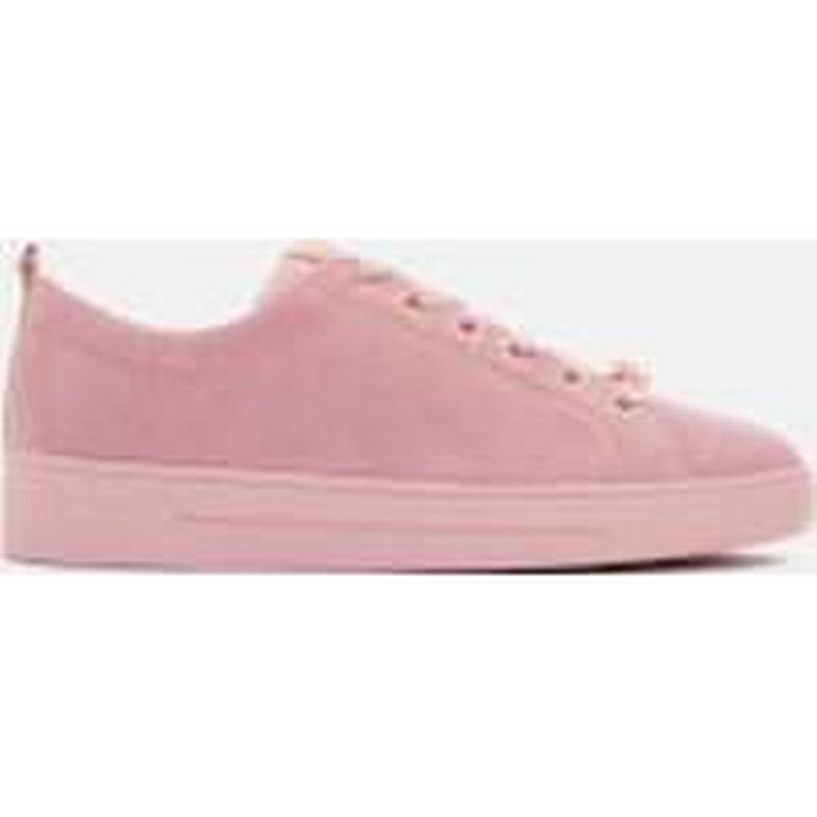 Ted Baker Women's Kelleis Suede Low Top Trainers - Mink - Pink - UK 8 - Mink Pink 0a0314