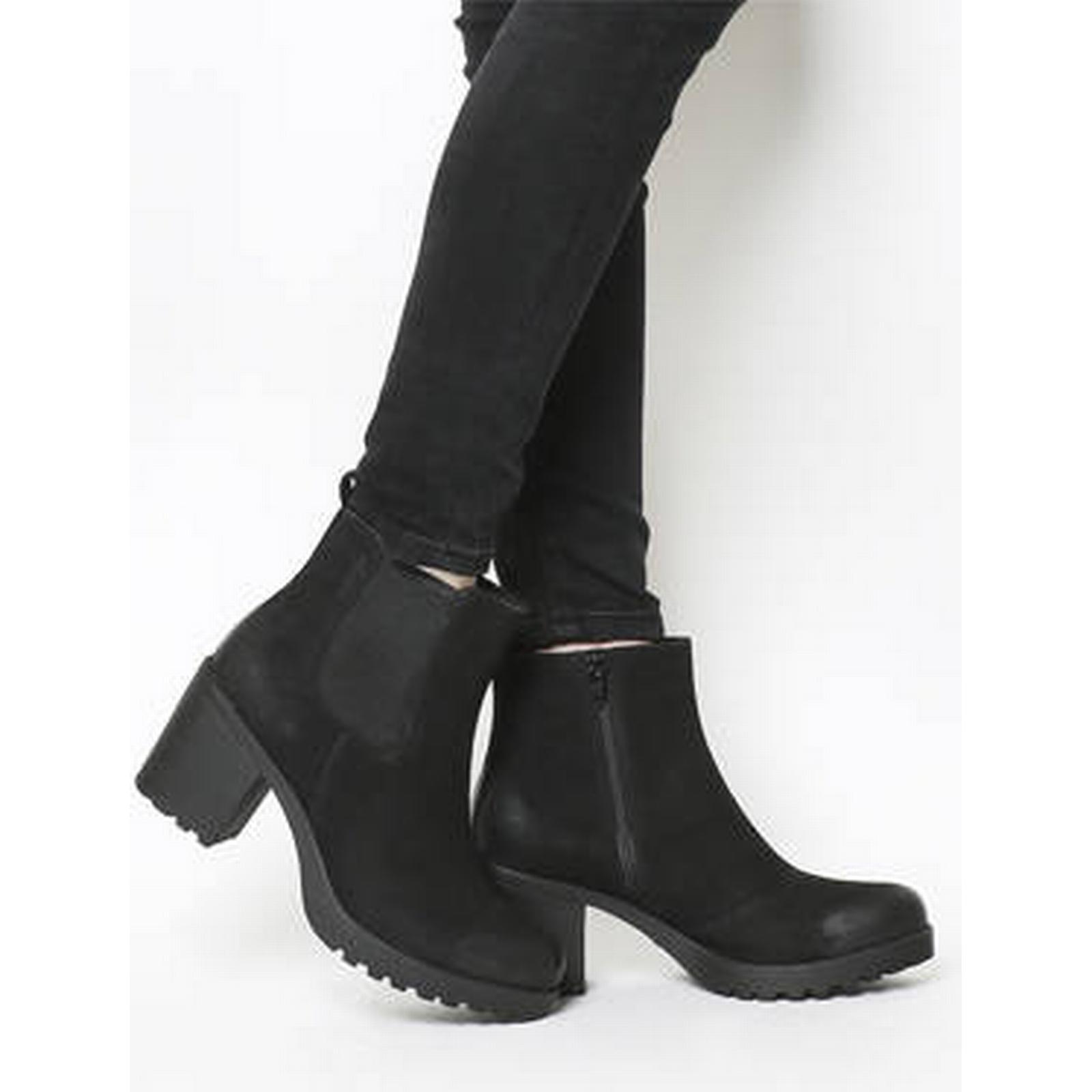 Vagabond Heeled Grace Heeled Vagabond Chelsea Boots BLACK NUBUCK eafa68