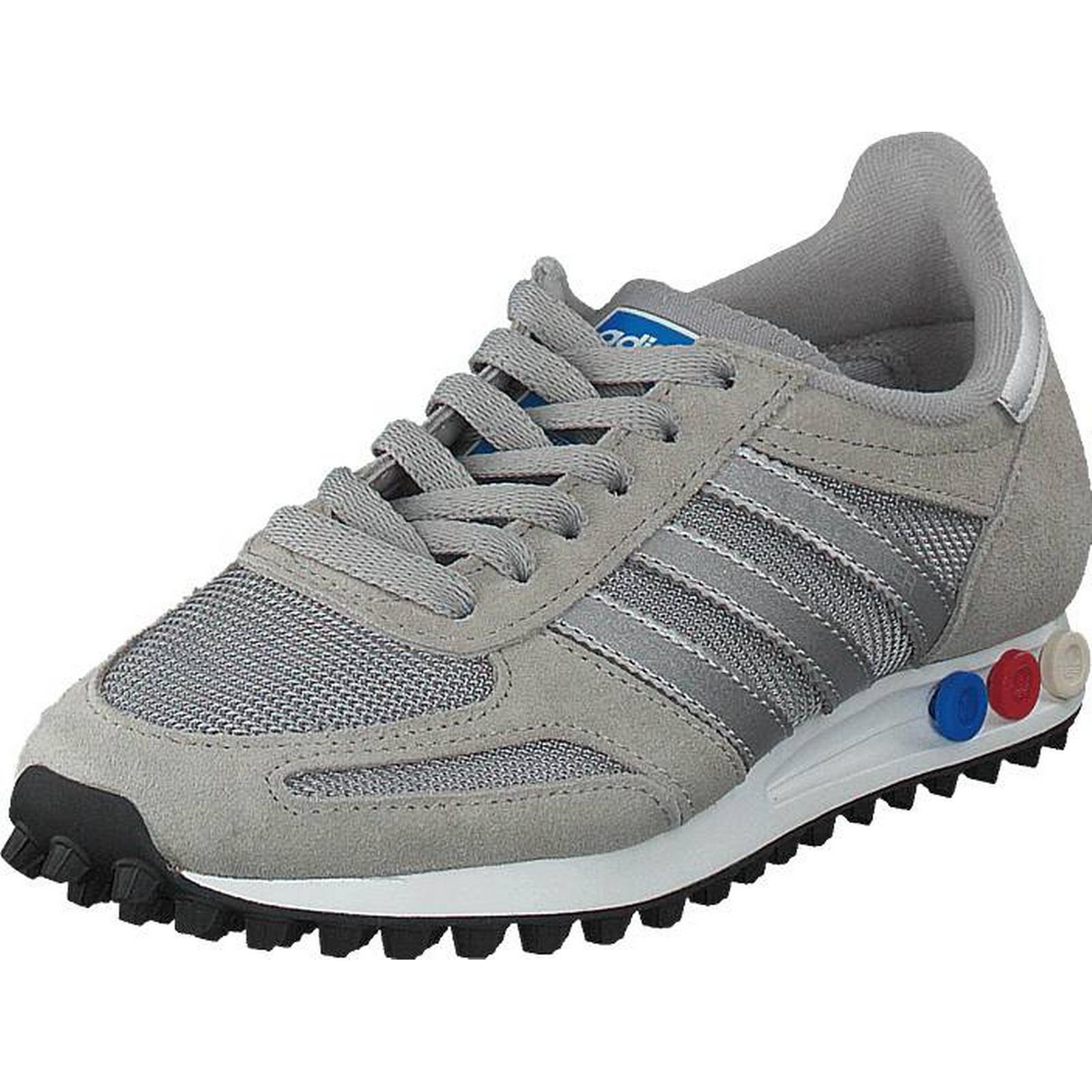 Adidas Originals La Trainer Trainer La Mgh Solid Grey/MetSilver/White, Shoes, Trainers & Sport Shoes , Trainers, Grey, Unisex, 37 7348b6