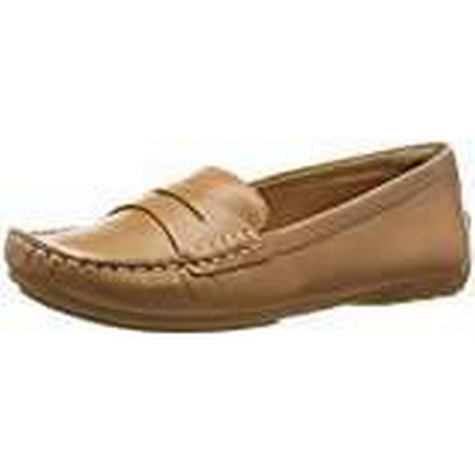 Clarks Doraville Nest, Women's 6 Mocassins, Brown (tan Leather), 6 Women's UK (39.5 EU) 3c0472