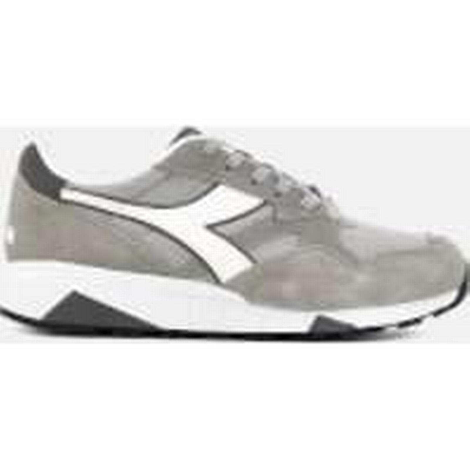 Diadora Men's N902 S Nylon/Suede - Trainers - Paloma Grey - Nylon/Suede UK 10 - Grey d87ae1