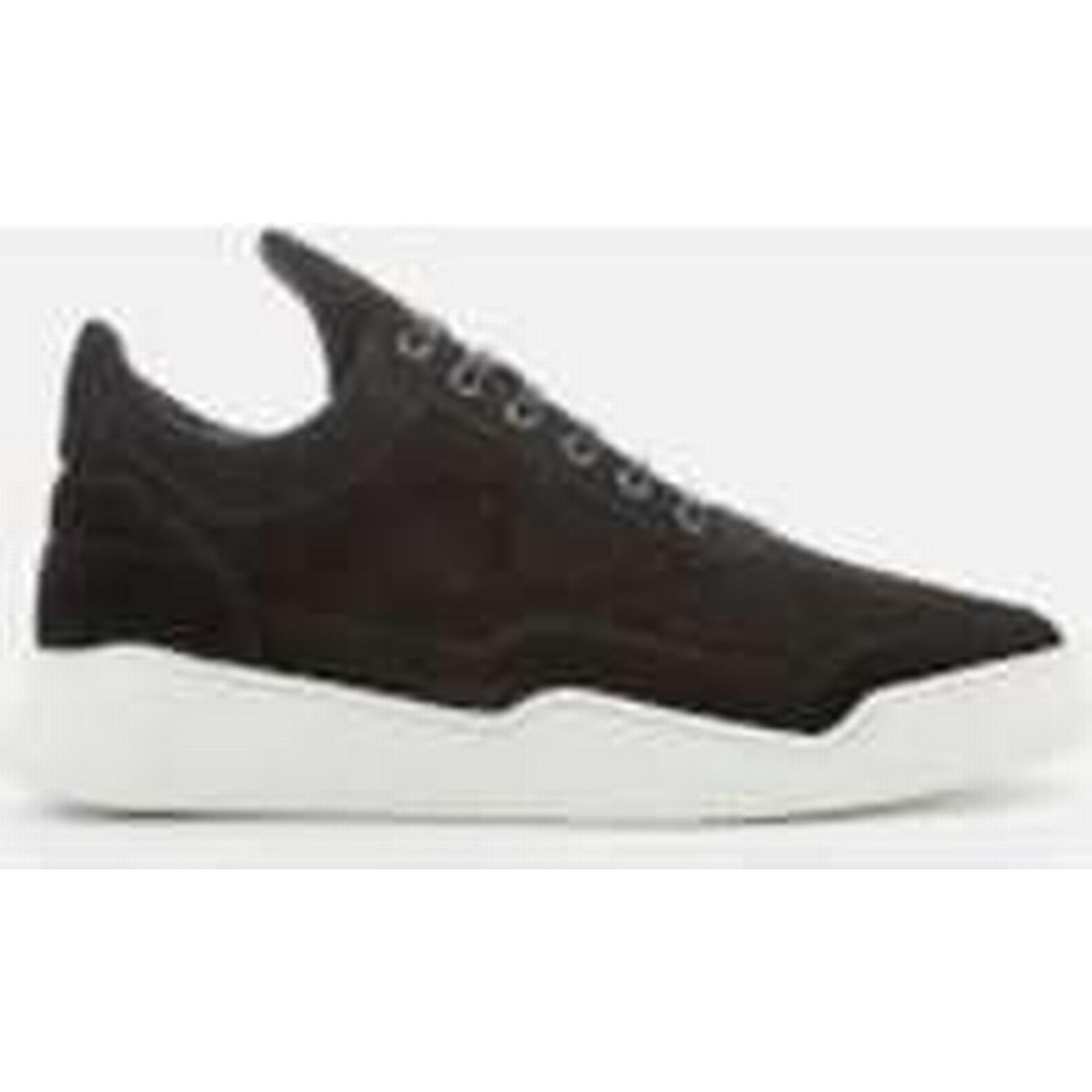 Filling Pieces Men's Ghost Gradient Perforated Black Low Top Trainers - Black Perforated - UK 9 - Black e94675