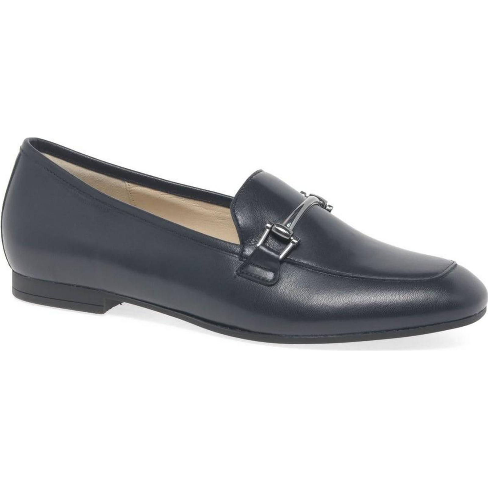 Gabor Serin Womens Slip On 6 Moccasins Colour: Navy, Size: 6 On 7e7bbd