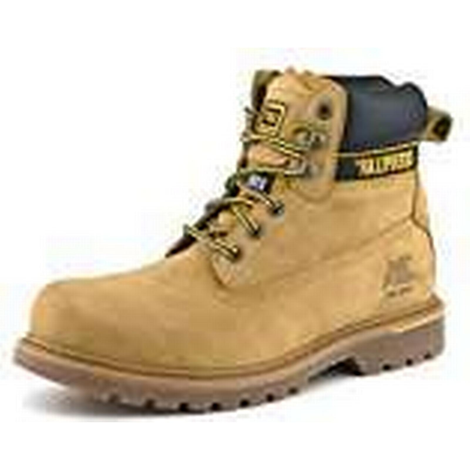 Briggs 7042HY060 Size Caterpillar Holton Safety Boot, Size 7042HY060 6, Honey ae852c