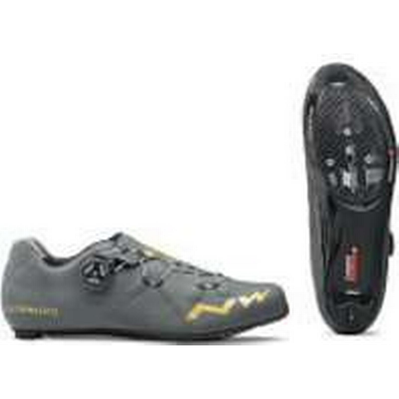 Northwave Extreme GT Cycling Shoes - Grey/Gold - - EU 44/UK 10/US 11 - - Grey/Gold bee8c0