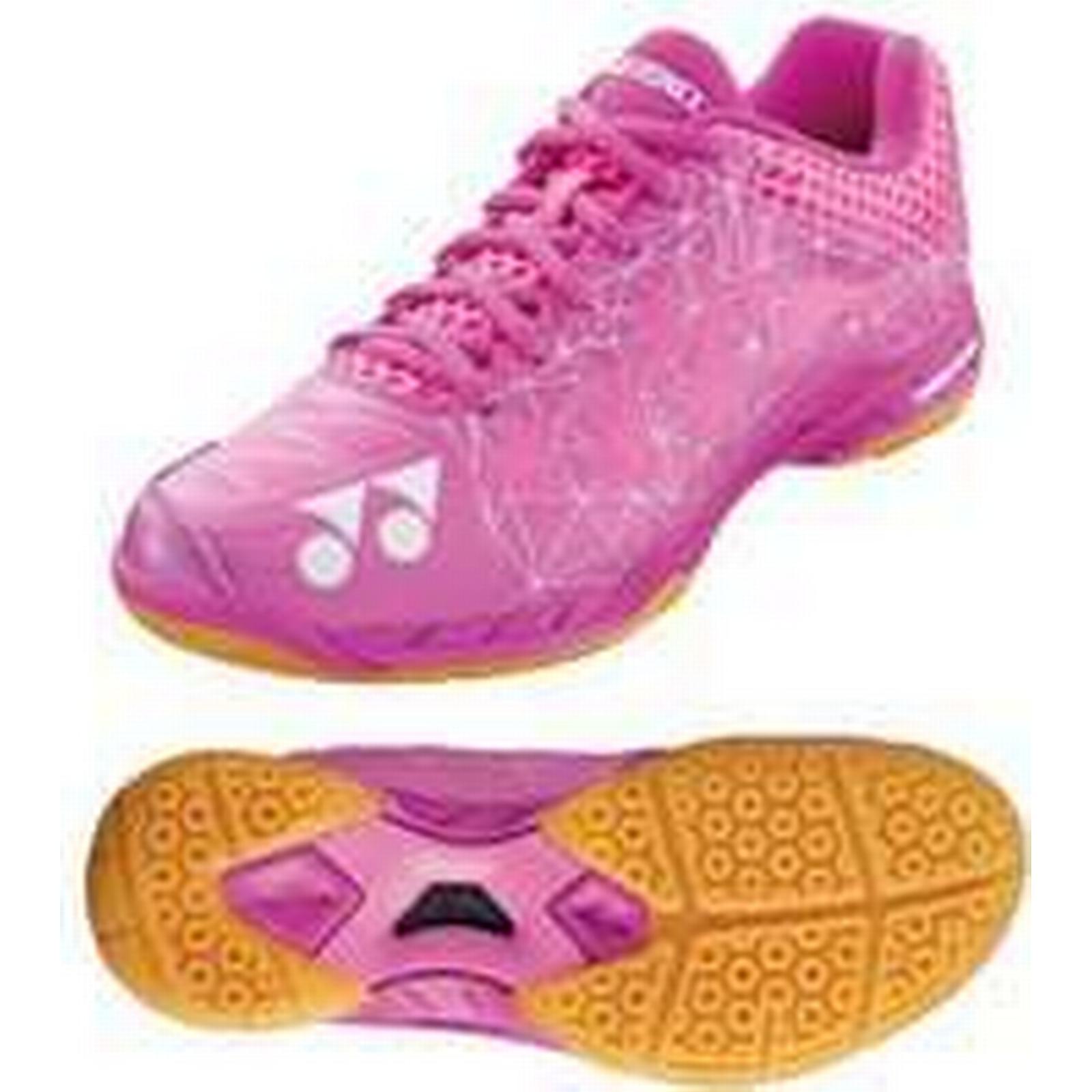 Yonex Power Badminton Cushion Aerus 2 Ladies Badminton Power Shoes - Pink, 4.5 UK 3ba49a