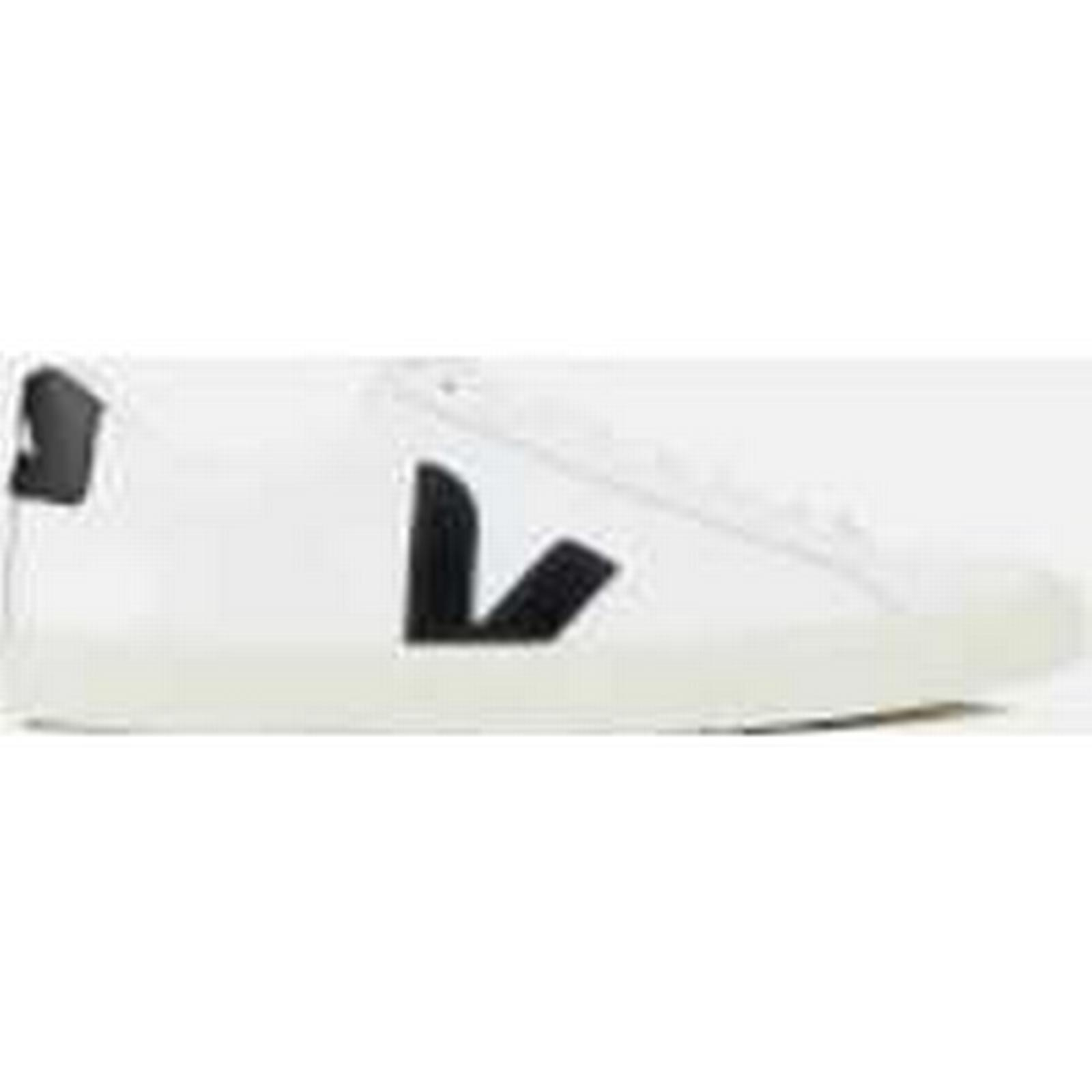 Veja Men's Esplar Leather White/Black Low Trainers - Extra White/Black Leather - EU 44/UK 10 - White 16180a
