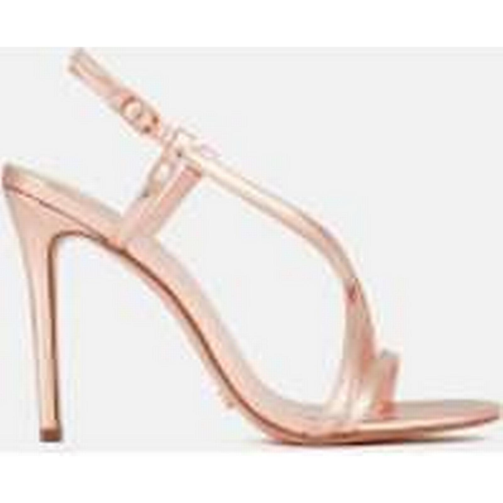 Dune Women's Madeena Strappy Heeled Sandals - Rose Gold Gold - UK 6 - Gold Gold 49ad43