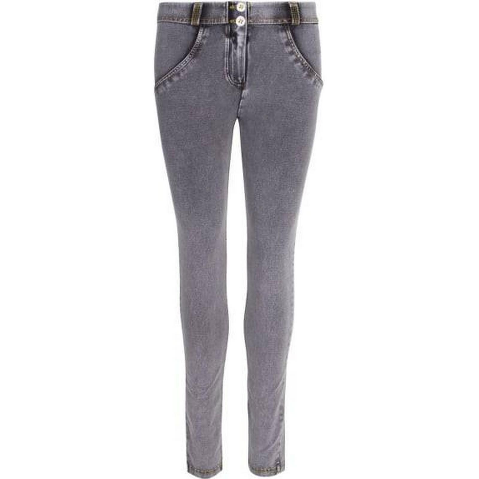 Freddy Womens Grey Mid Rise Skinny Jeans Size: L L L 8befa0