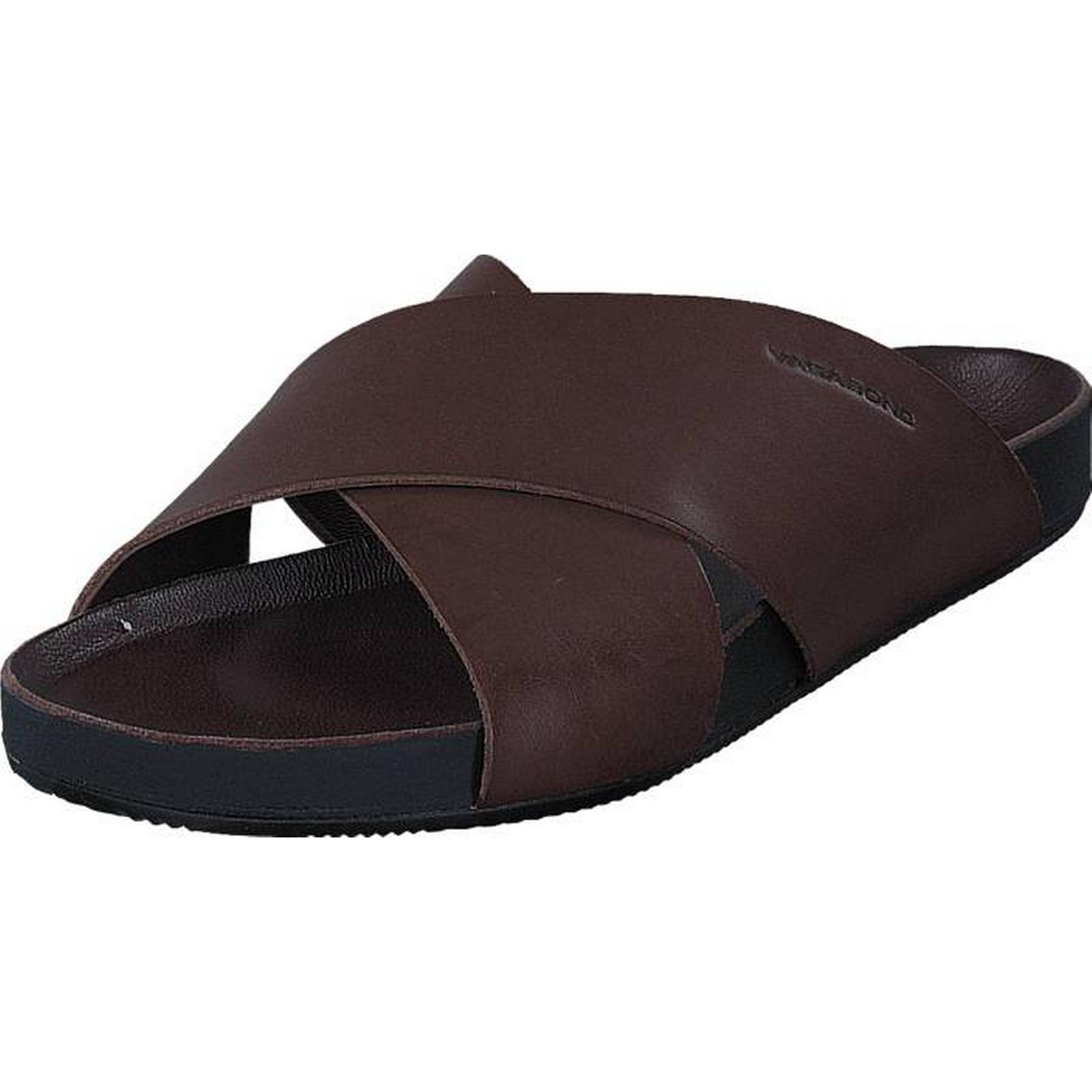 Vagabond Funk 4390-001-34 34 Dk Brown, Shoes, & Sandals & Shoes, Slippers, Sandals, Blue, Brown, Male, 44 0726a6