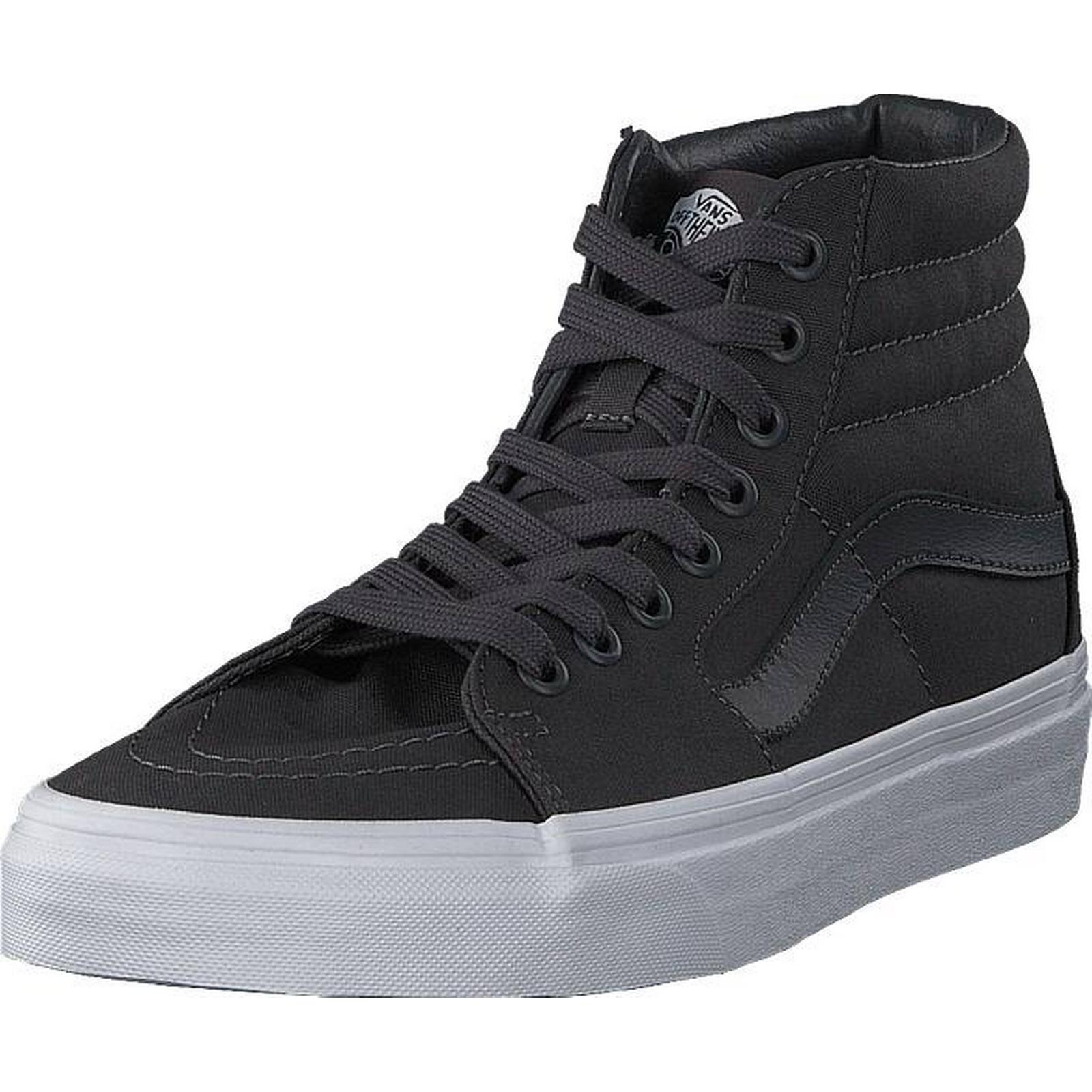 Vans Ua Sk8-hi Mono Canvas Asphalt, Shoes, & Trainers & Shoes, Sport Shoes , High-top Trainers, Grey, Unisex, 39 314dc4