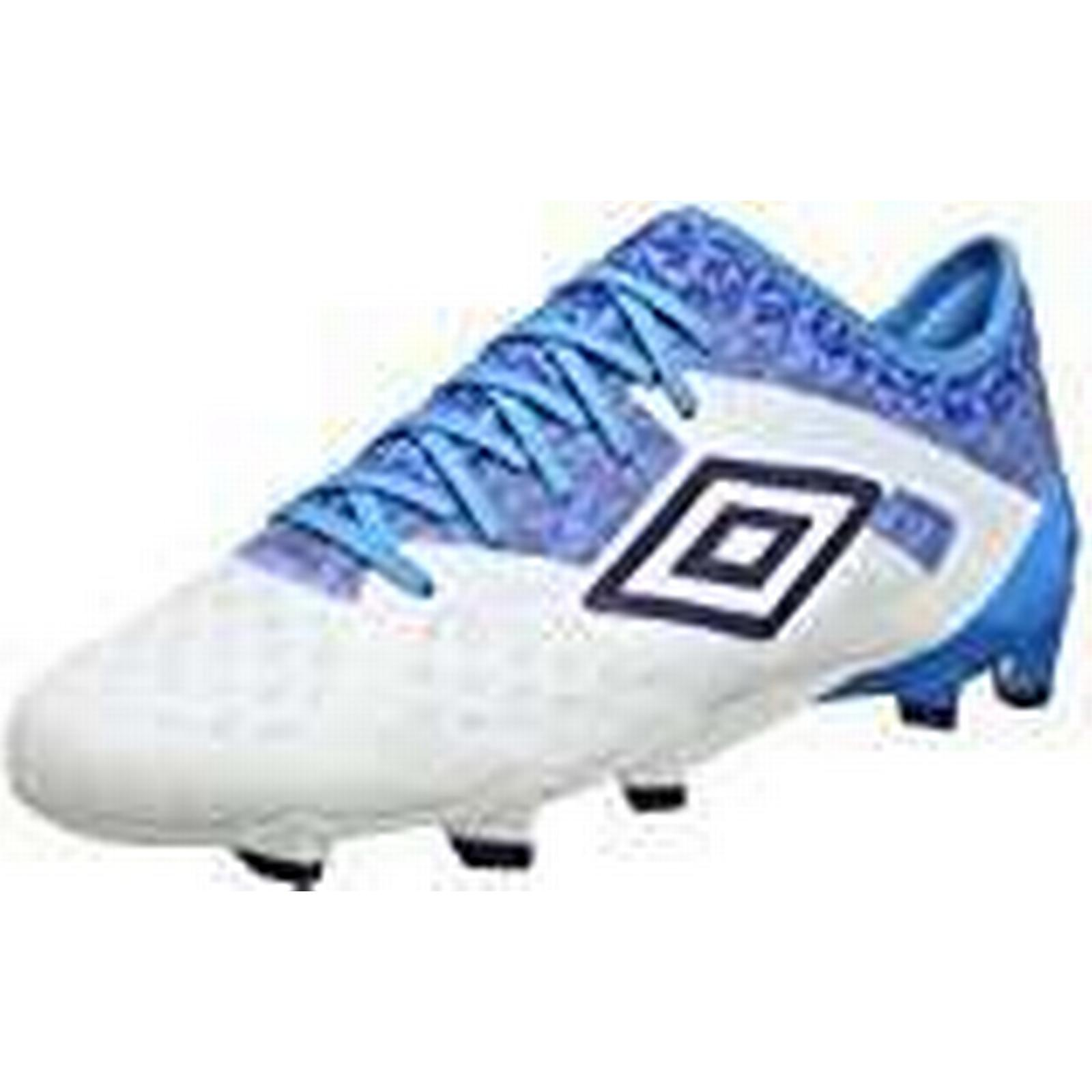 Umbro Men's Velocita III Club HG Blue, Football Boots, White/Astral Aura/Dive Blue, HG Size UK7 536995