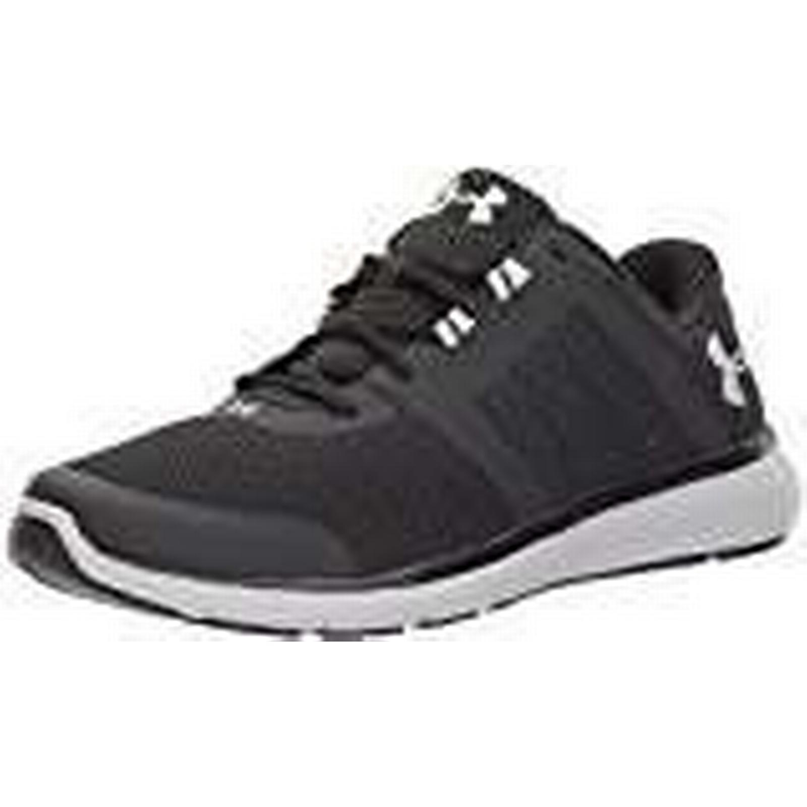 Under Armour Ua Fuse Fst, Men's Competition Running Shoes, UK Black (Black 001), 8 UK Shoes, (42.5 EU) 517e73