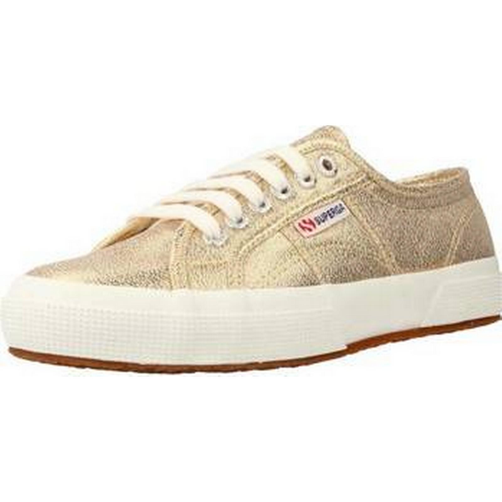 spartoo.co.uk superga  lamew femmes # & # femmes  ; s Chaussure s formateurs en or 96b6b3