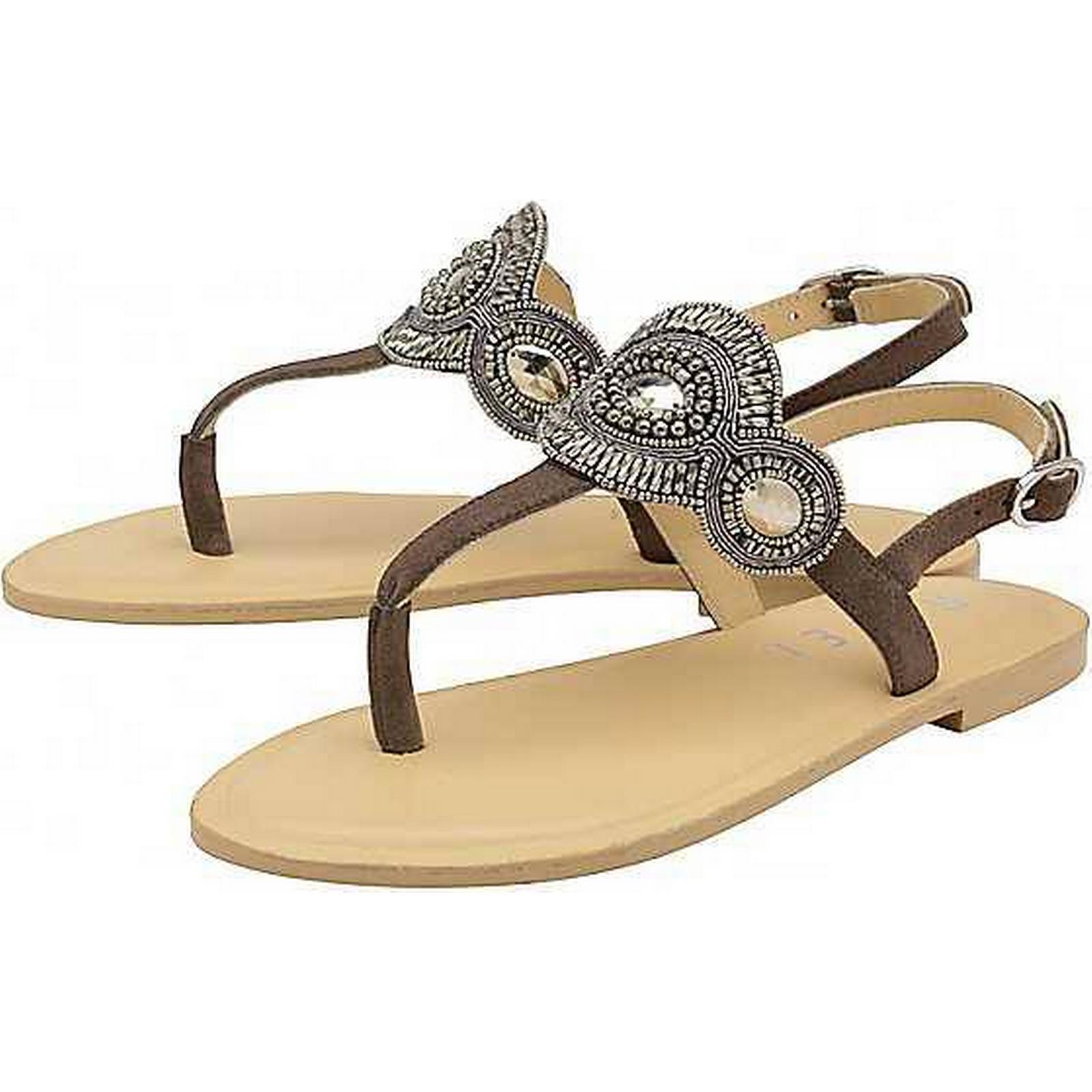 Ravel Embellished Post Toe Post Embellished Sandals by Ravel 986ee4