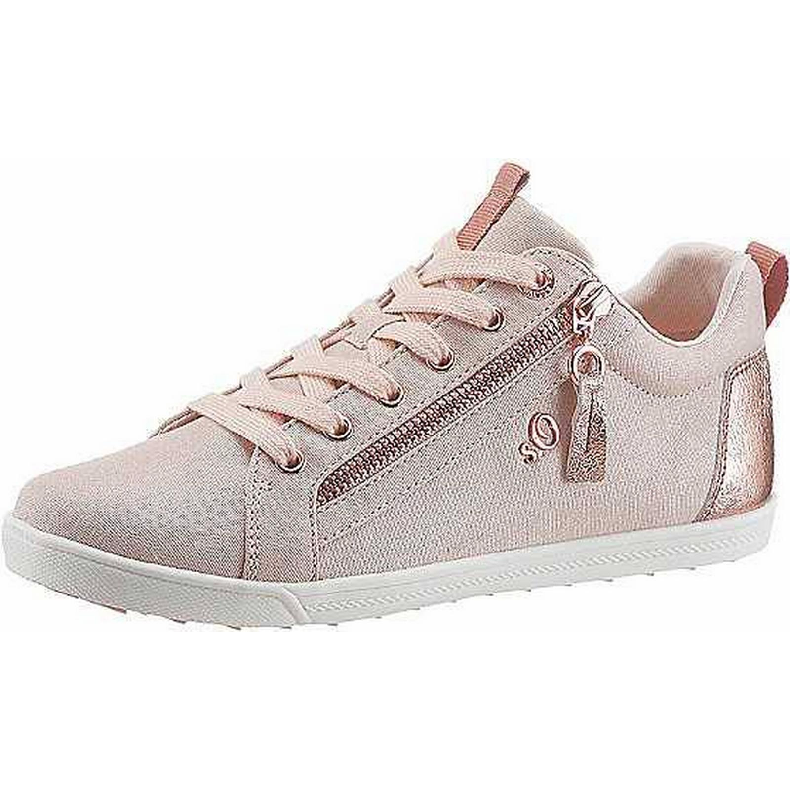 S.Oliver RED LABEL Gold Shopping Effect Trainers by s.Oliver-Mr/Ms-Online Shopping Gold 66a287