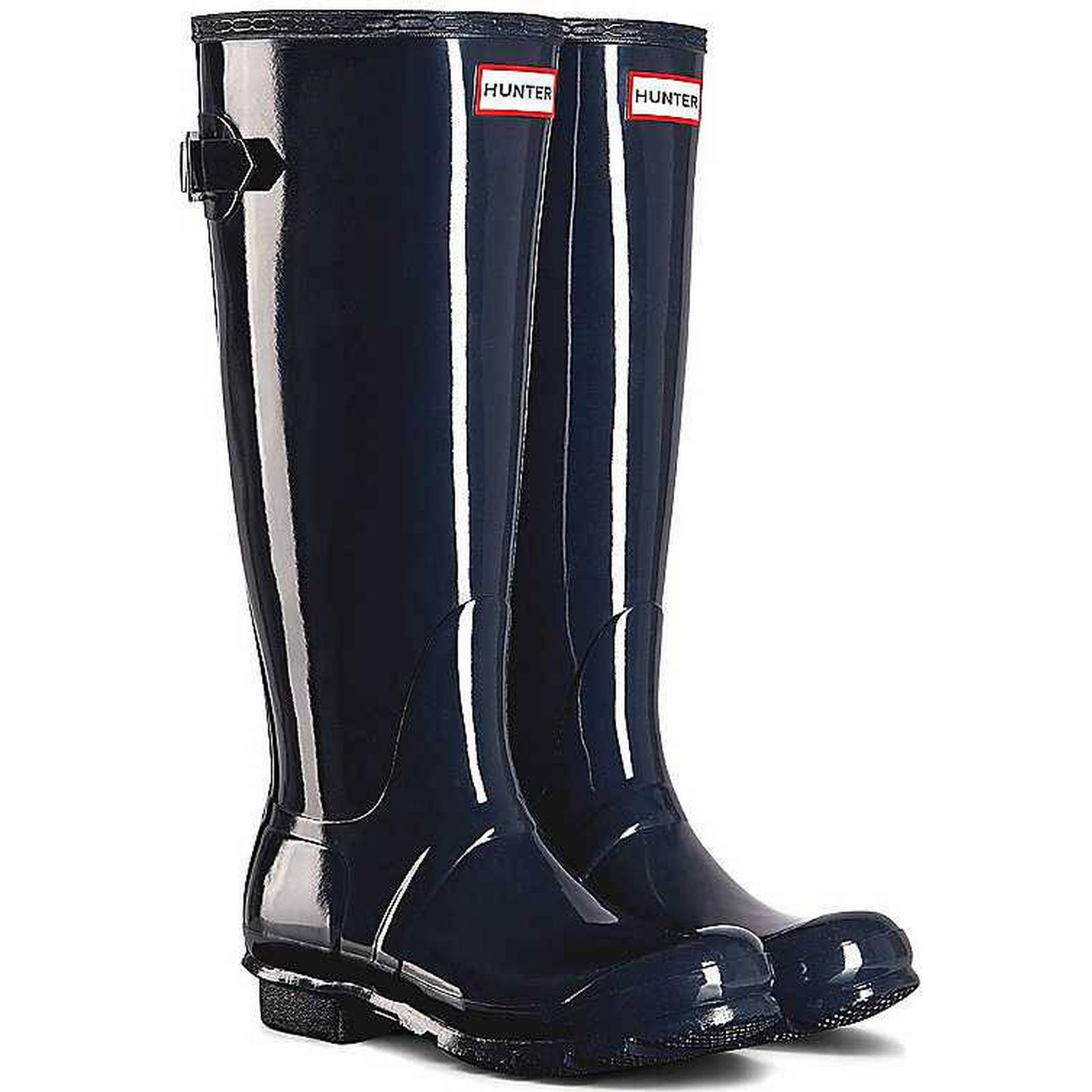 Hunter Gloss Original Tall Adjustable Gloss Hunter Wellies by Hunter:Gentleman/Lady:Grateful feedback ae12b0