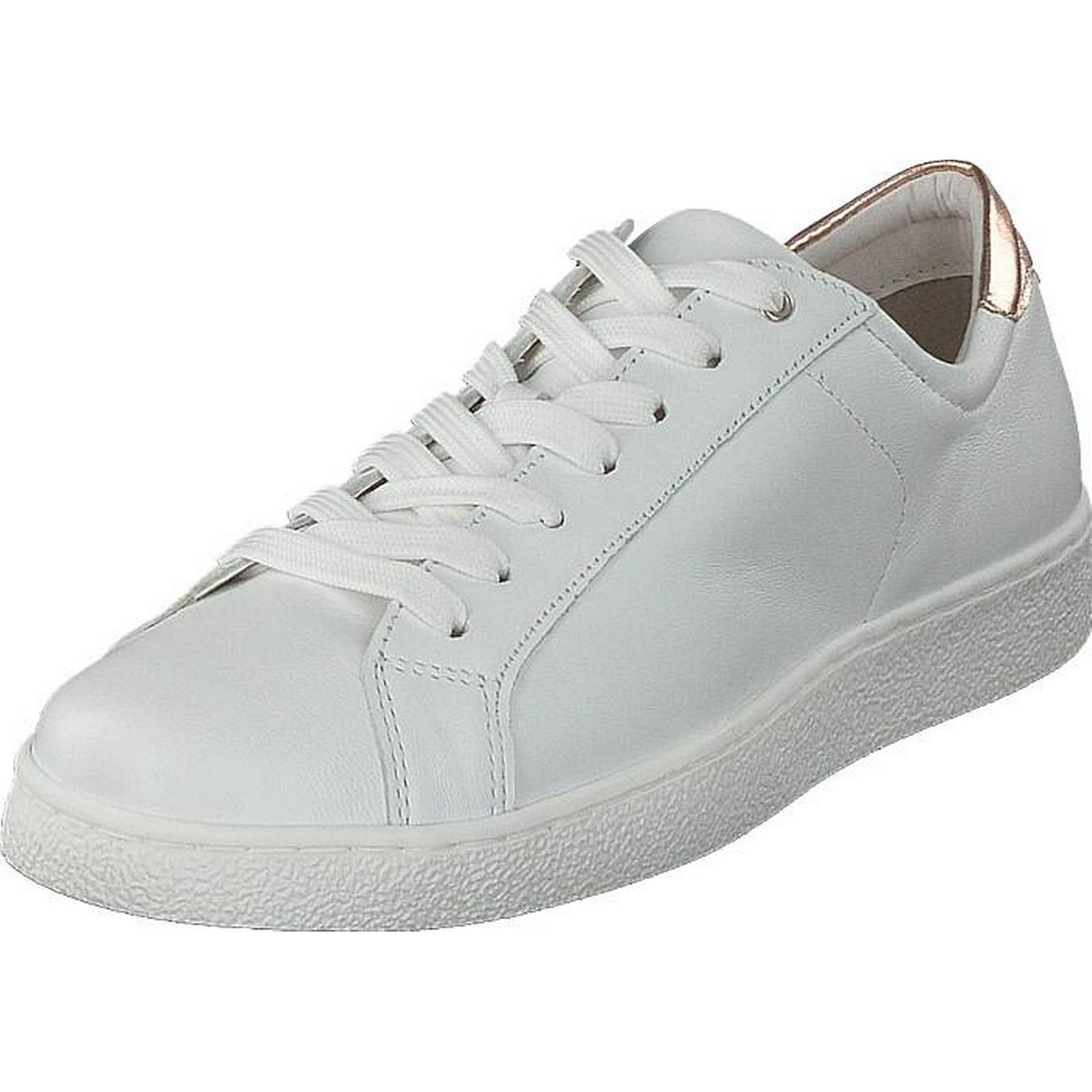 Tamaris 23631-154 Rose White Rose 23631-154 Metallic, Shoes, Trainers & Sport Shoes , Low-top Trainers, White, Female, 39 572d3b