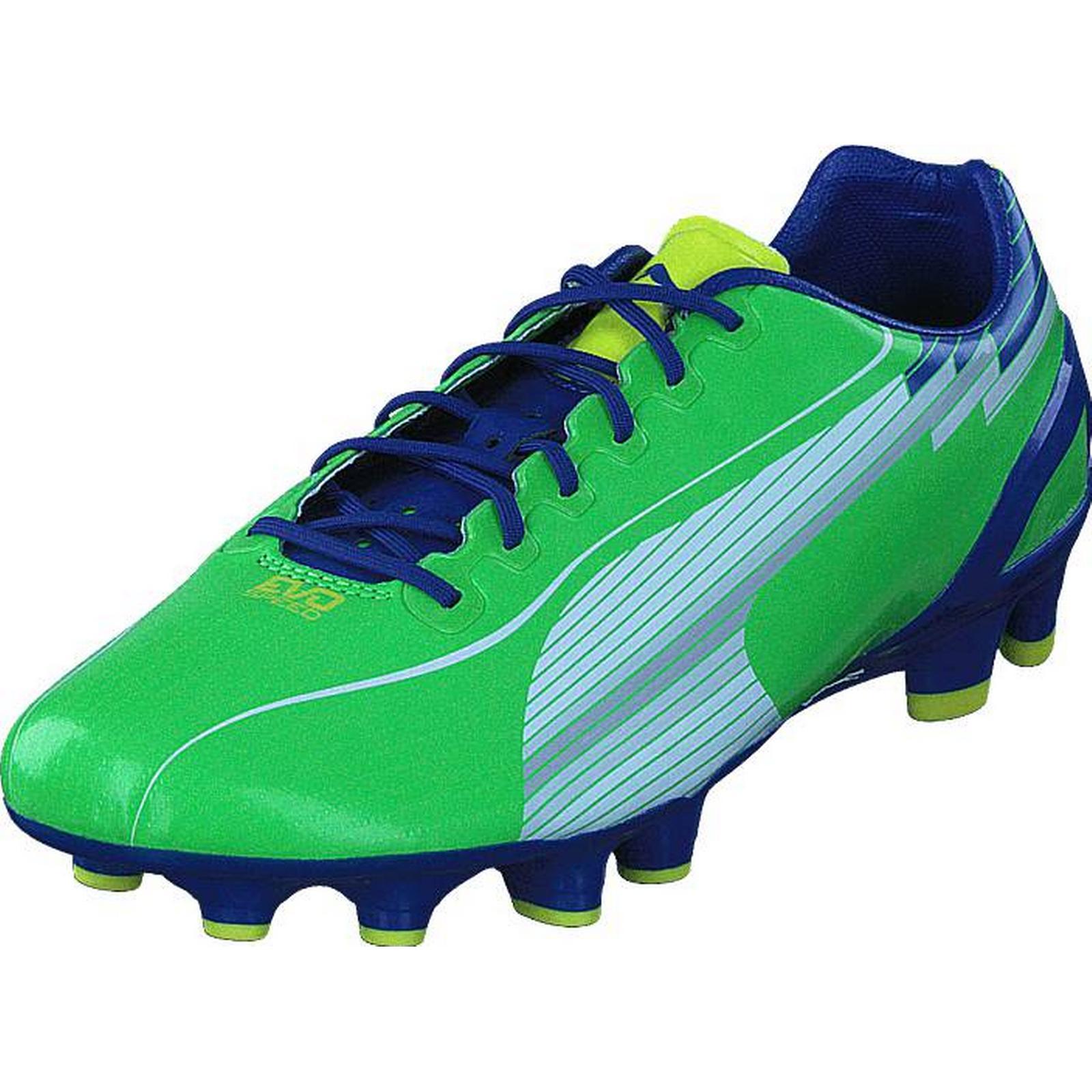 Puma 1 Evospeed 1 Puma FG Jasmine Green, Shoes, Trainers & Sport Shoes , Low-top Trainers, Blue, Green, Male, 41 d00c88