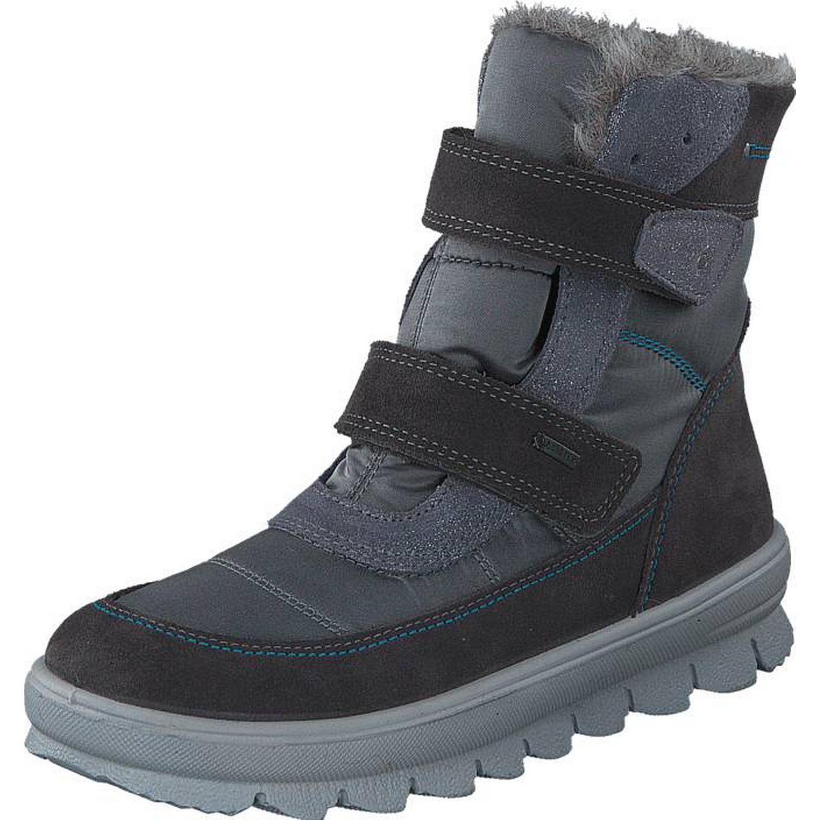 Superfit Flavia Velcro Gore-Tex Stone Combi, Shoes, Shoes, Combi, Boots & Chelseas, Warm-lined Boots, Purple, Unisex, 27 181291