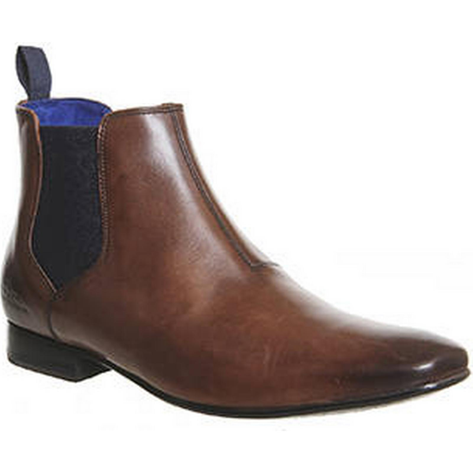 Ted Boot Baker Hourb 2 Chelsea Boot Ted BROWN LEATHER 7bf2f7