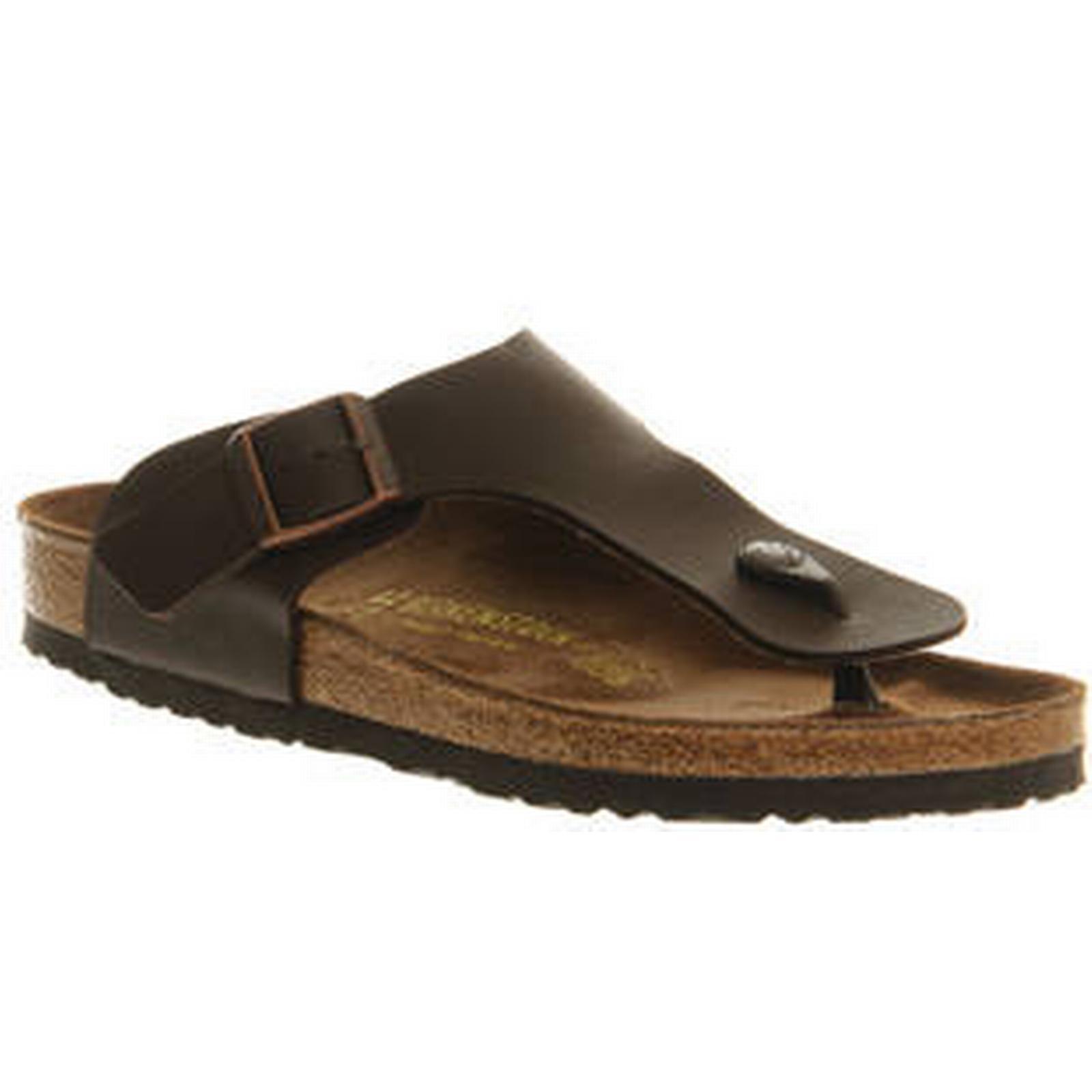 Birkenstock BROWN Ramses Thong Sandals DARK BROWN Birkenstock 74ee9d