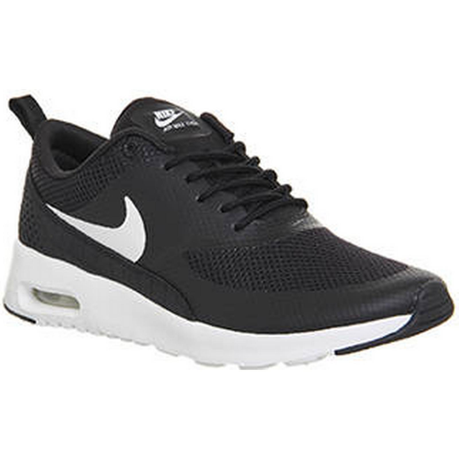 Nike Air Air Nike Max Thea BLACK WHITE 54cca0