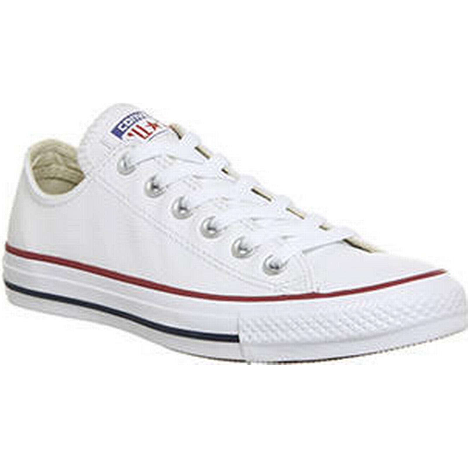 Converse All Star Leather Low Leather Star OPTICAL WHITE 09a79f
