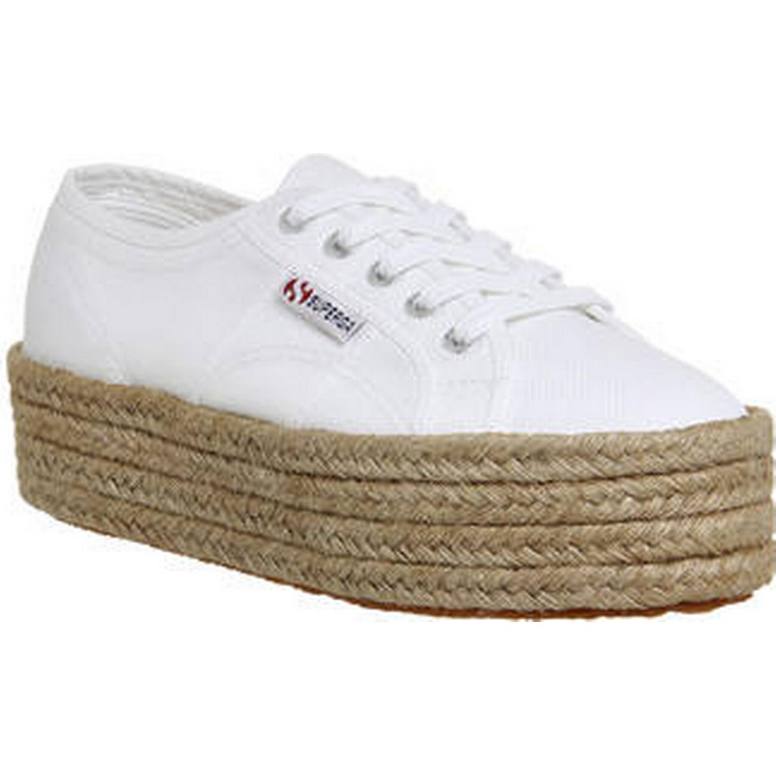 Superga 2790 (l) WHITE WHITE WHITE ESPADRILLE 370448