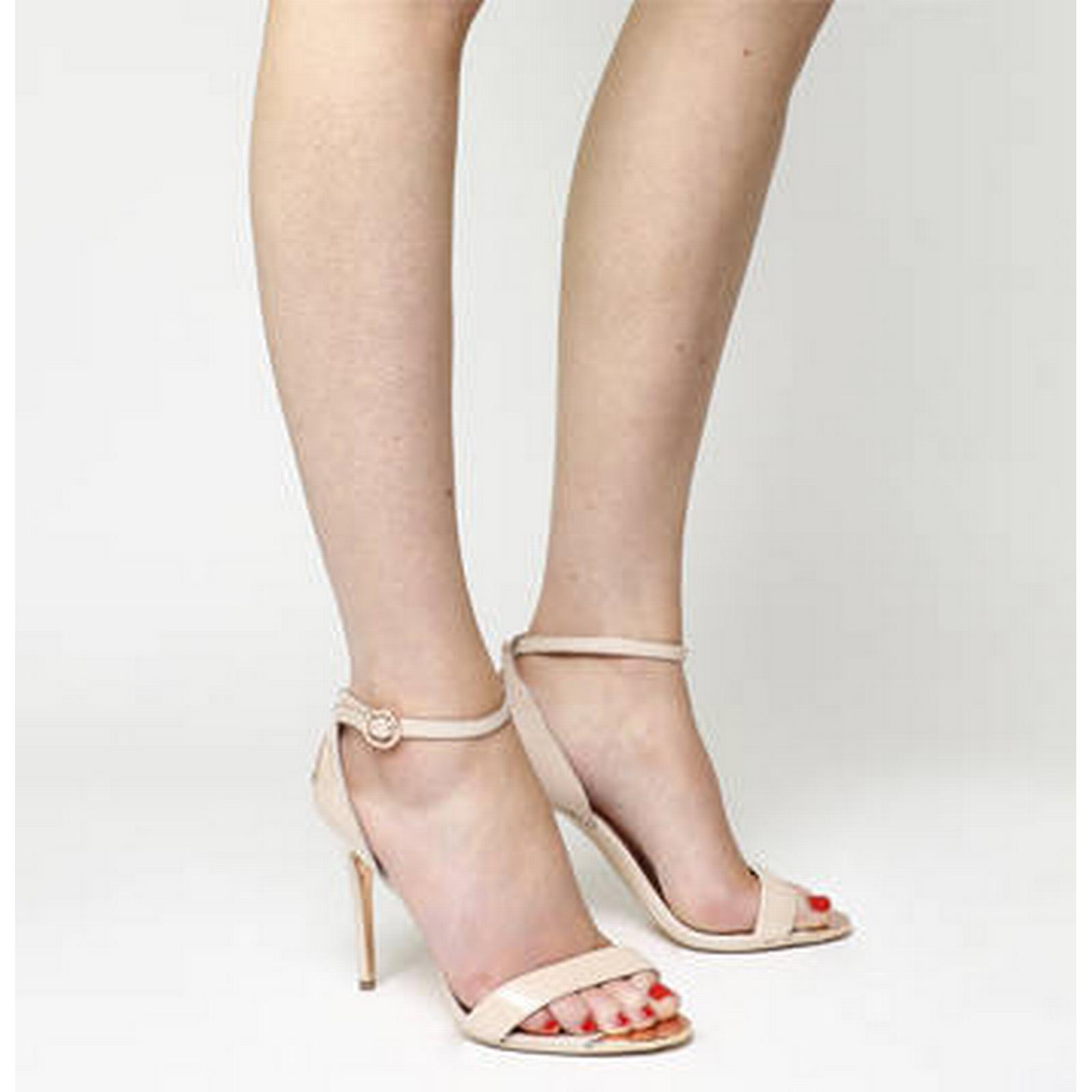 Ted Baker Heel Mirobell Strappy Heel Baker NUDE PATENT LEATHER a6c631