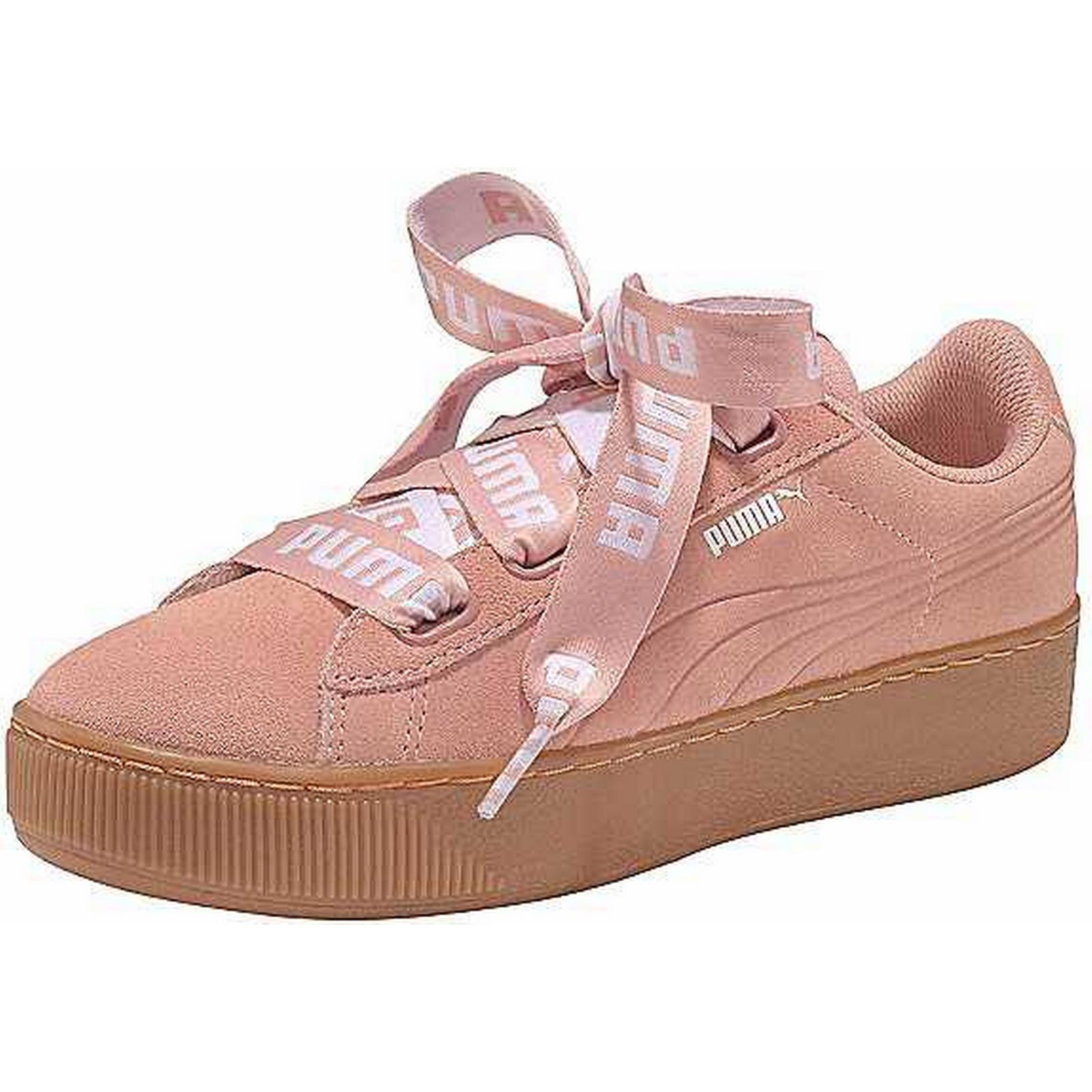 Puma Trainers 'Vicky Platform Ribbon Bold' Trainers Puma by Puma:Gentleman/Lady: Complete specifications c21c31