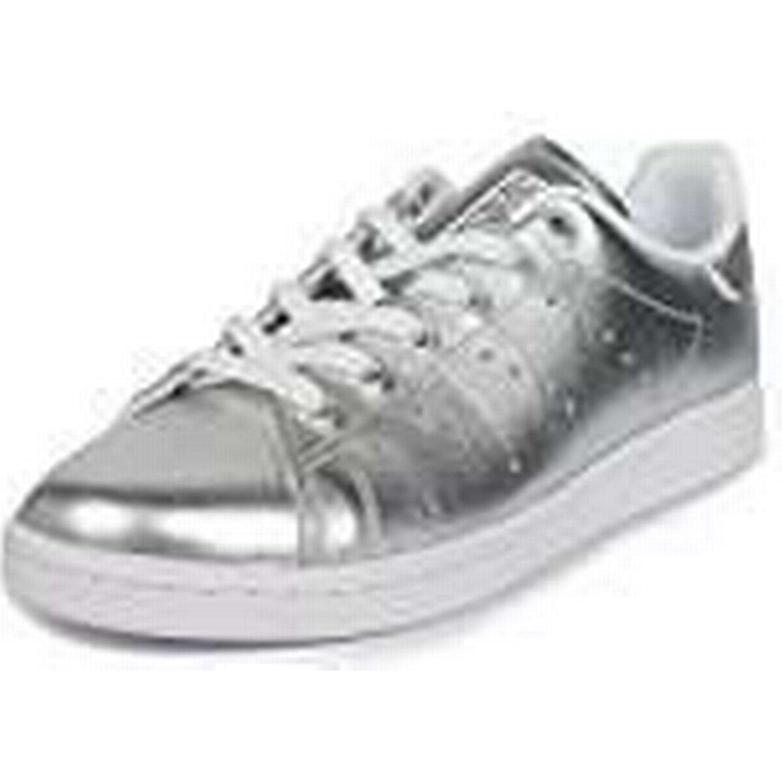 new style 438f1 390bb 2b2da cc58c  low cost adidas trainers womens stan smith ba7662 trainers  adidas silver white size 6.5 891735 899aa