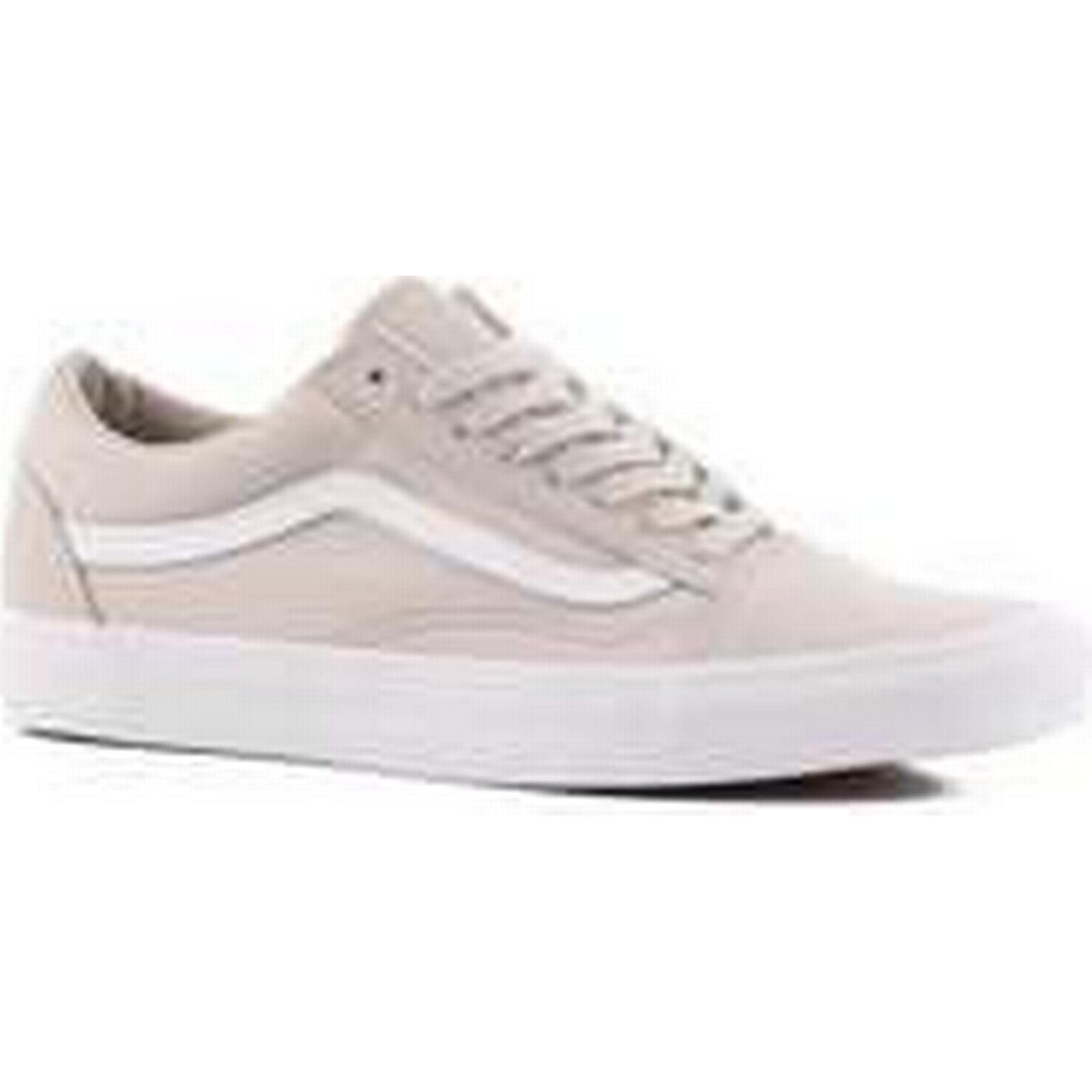 Vans Shoes Old Skool Skate Shoes Vans (suiting) silver lining/true white 057cb6